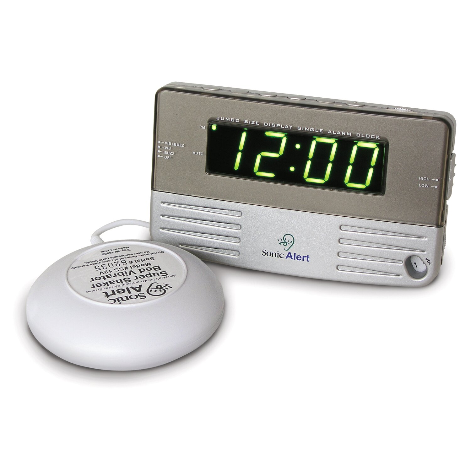 What are some highly rated travel alarm clocks according to customer reviews?