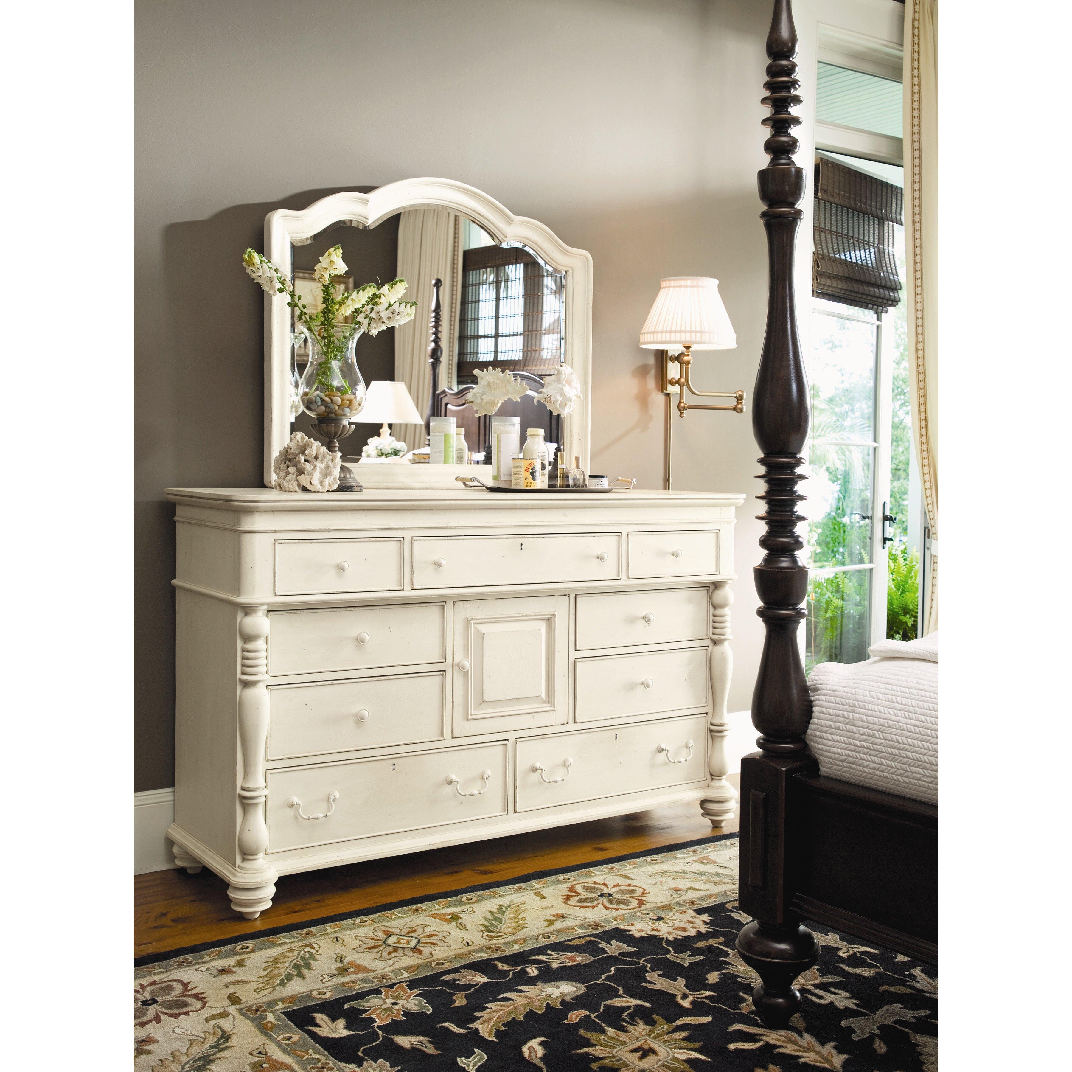 Paula Deen Bedroom Furniture Collection Paula Deen Home Steel Magnolia 9 Drawer Combo Dresser Reviews