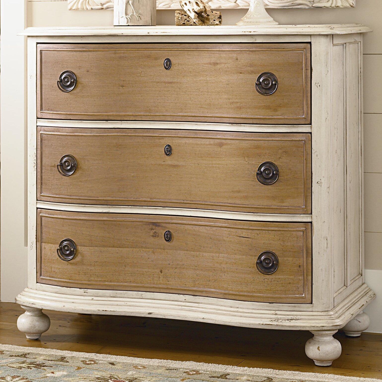 Paula Deen Bedroom Furniture Collection Paula Deen Home Down Home 3 Drawer Chest Reviews Wayfair