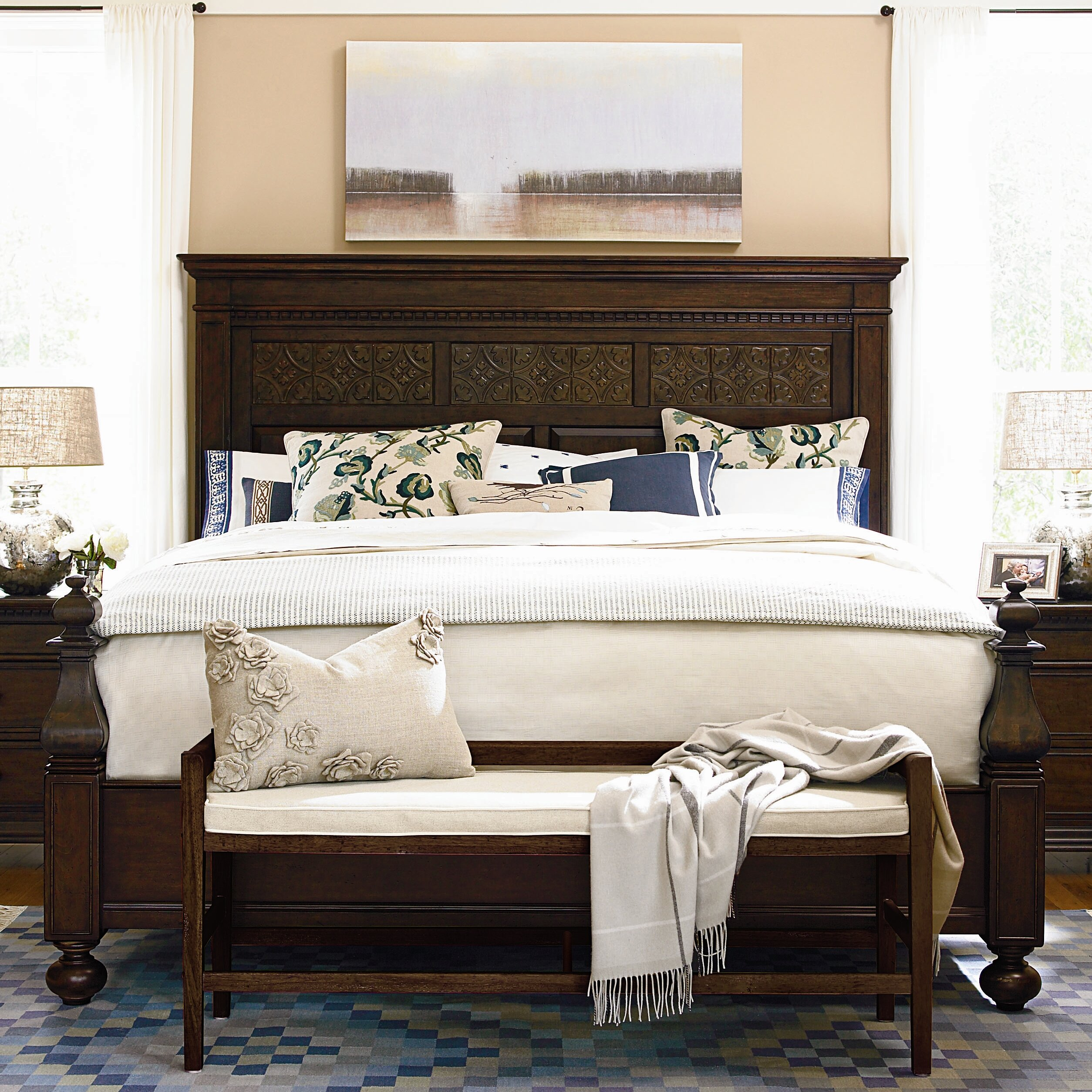 Paula Deen Kitchen Cabinets Paula Deen Home Queen Panel Bed Reviews Wayfair