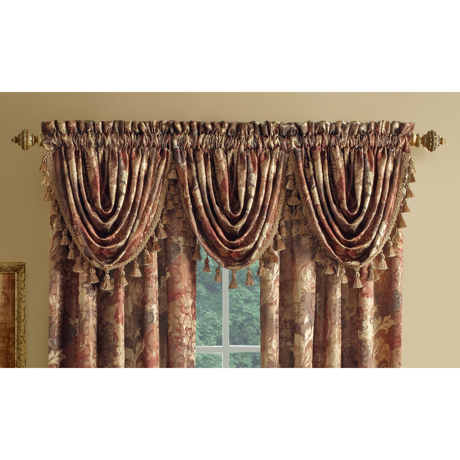 Go gold curtains and valances - Go Gold Curtains And Valances