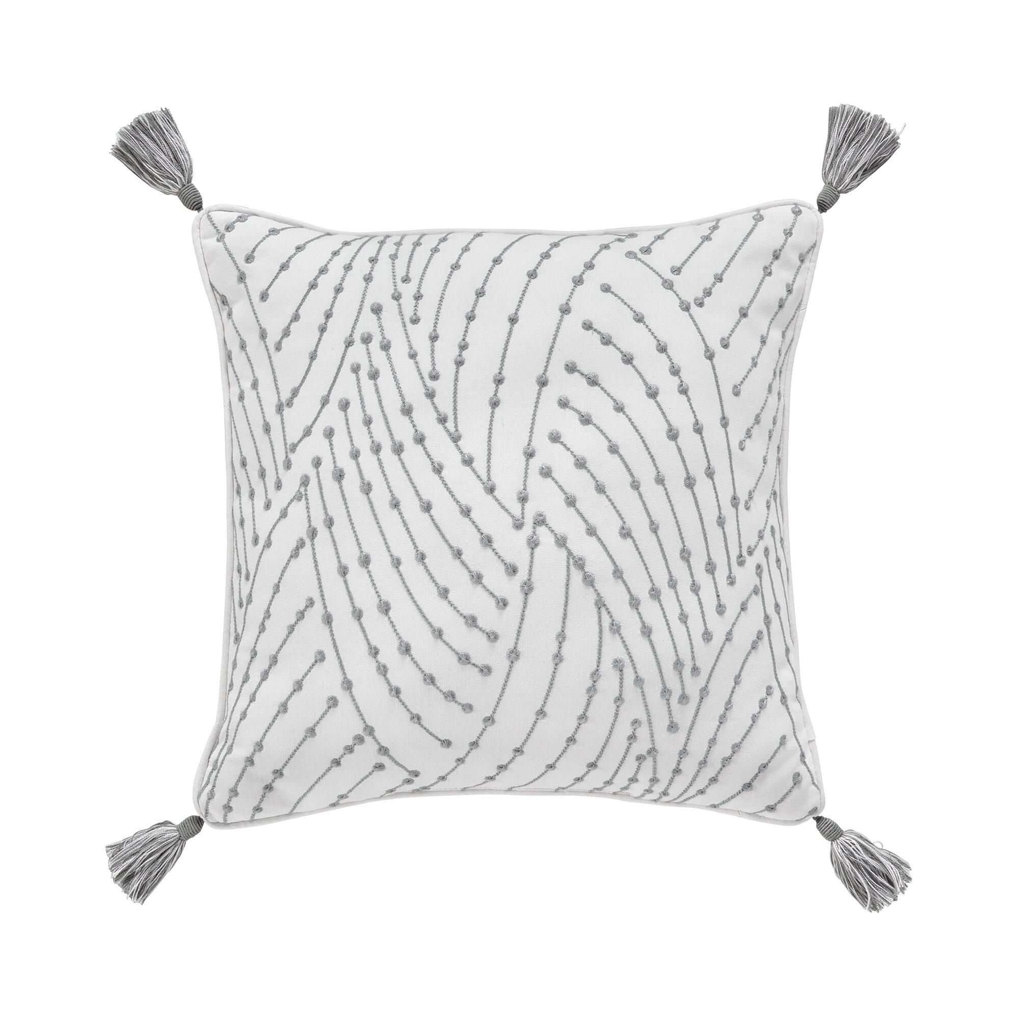 Croscill Eleyana 100% Cotton Throw Pillow | Wayfair - Croscill Home Fashions Eleyana 100% Cotton Throw Pillow