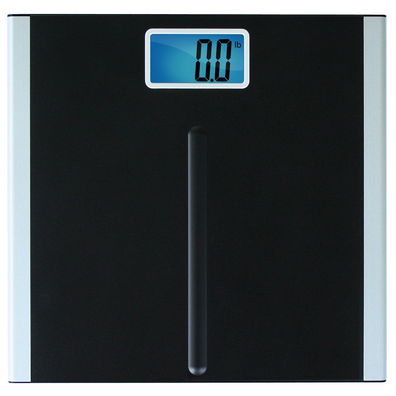 Product spotlight meet the eatsmart precision digital bathroom scale - Eatsmart Precision Premium Digital Bathroom Scale In Black Eatsmart Precision Premium Digital Bathroom Scale In