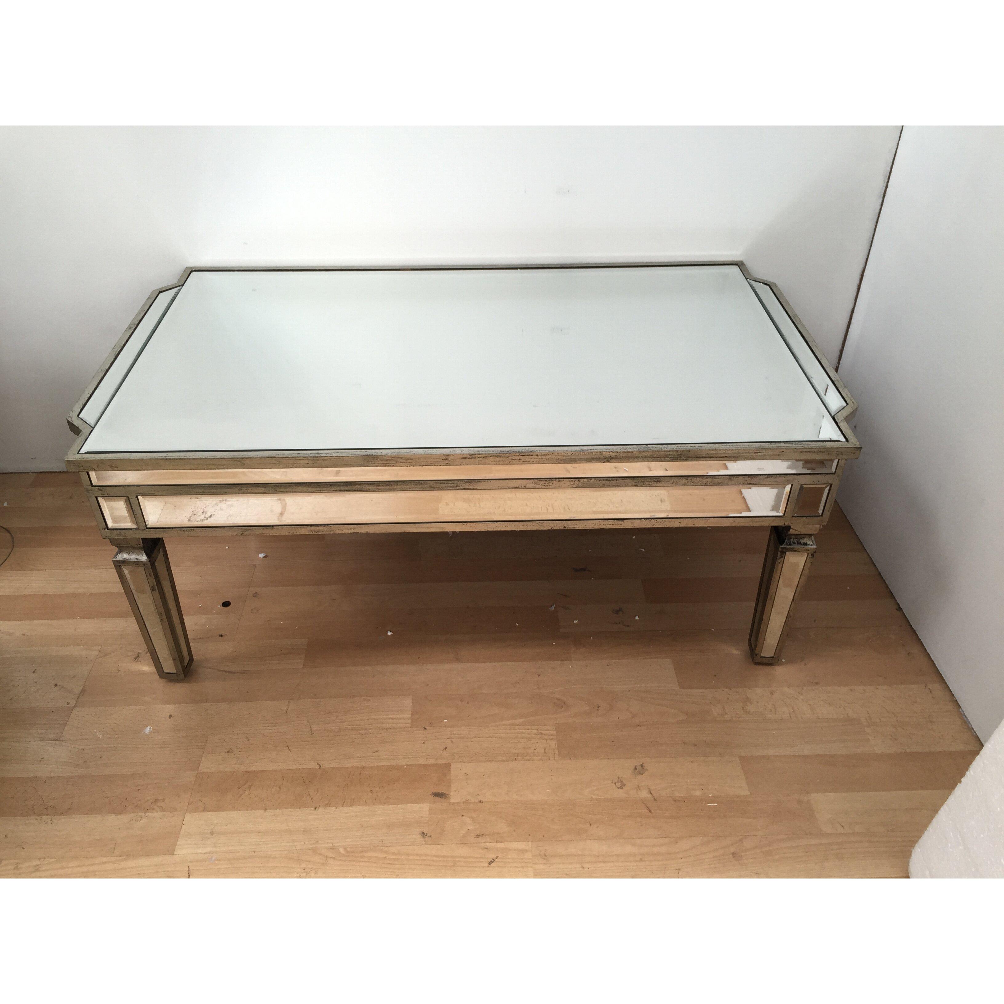 Wayfair Glass Coffee Table Uk: Alterton Vintage Mirrored Coffee Table & Reviews