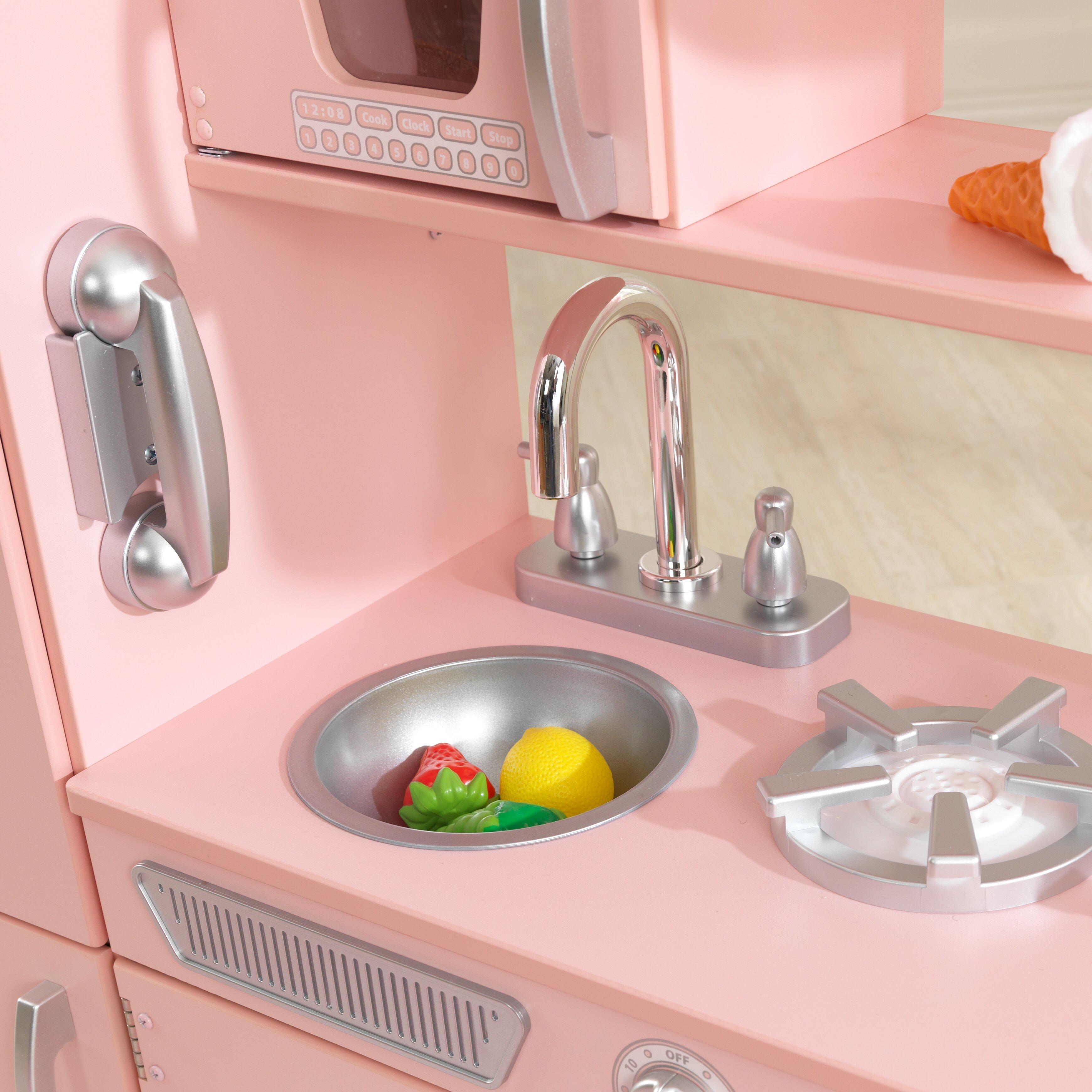 kidkraft vintage kitchen set & reviews | wayfair uk