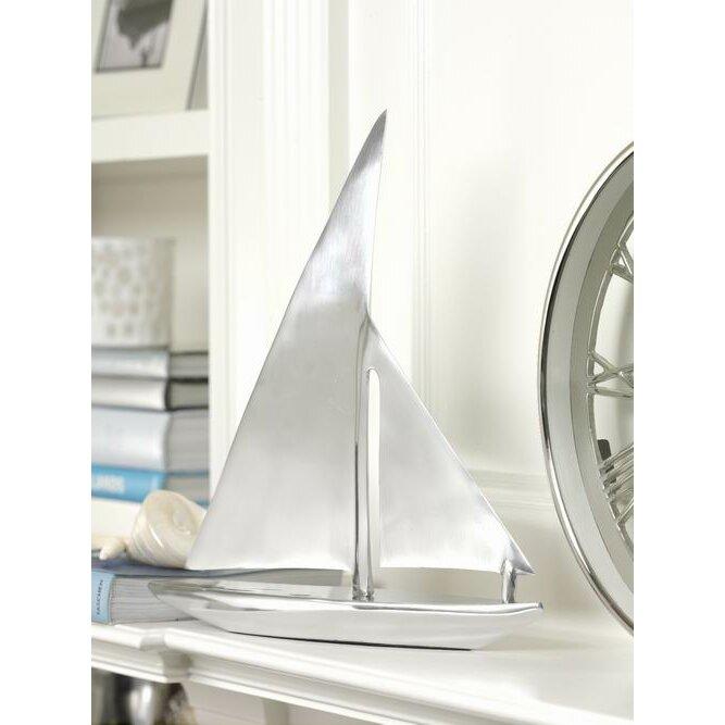 Zodax Aluminum Decorative Sailboat Amp Reviews Wayfair