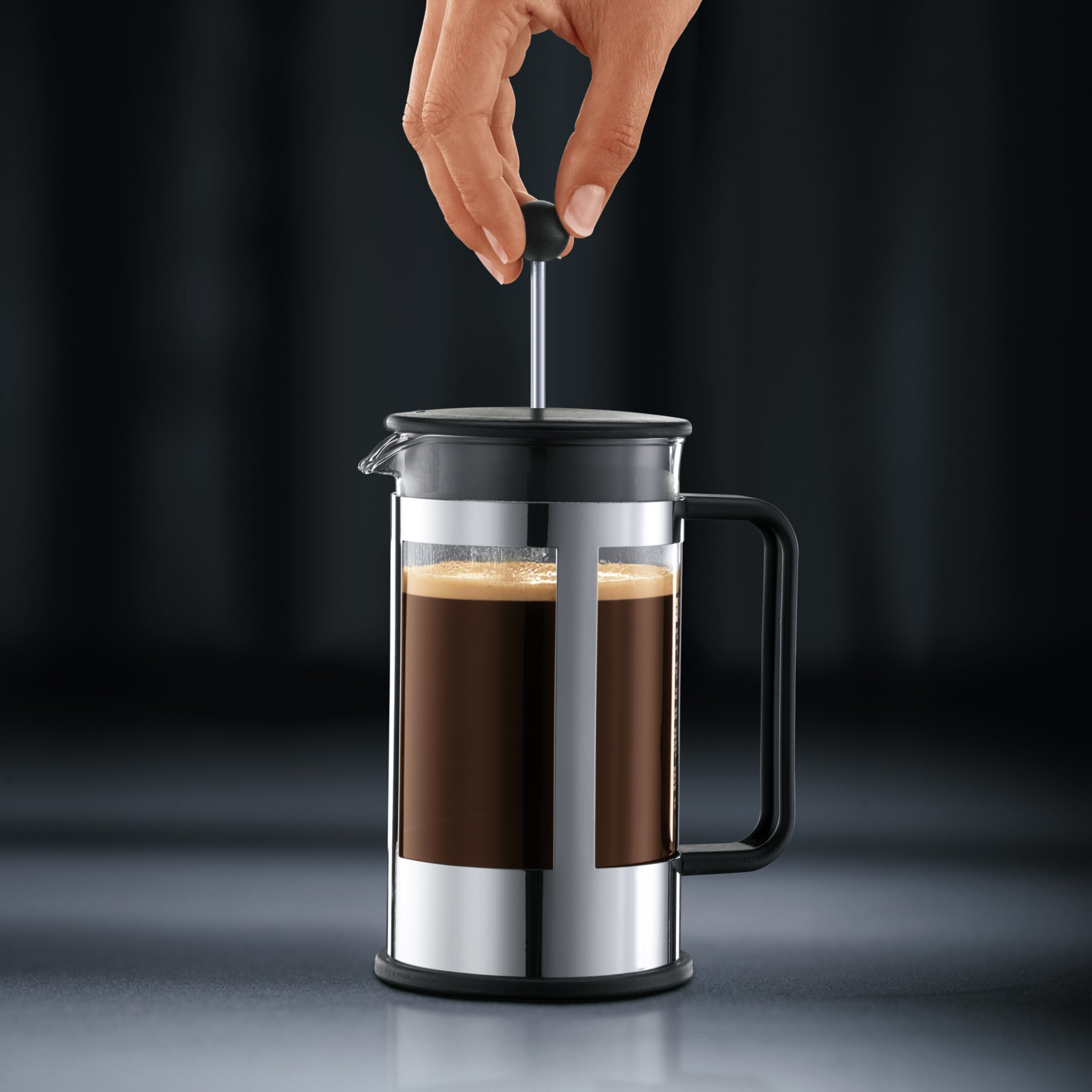 Bodum french press replacement glass - Bodum Kenya 8 Cup French Press Coffeemaker With Carafe