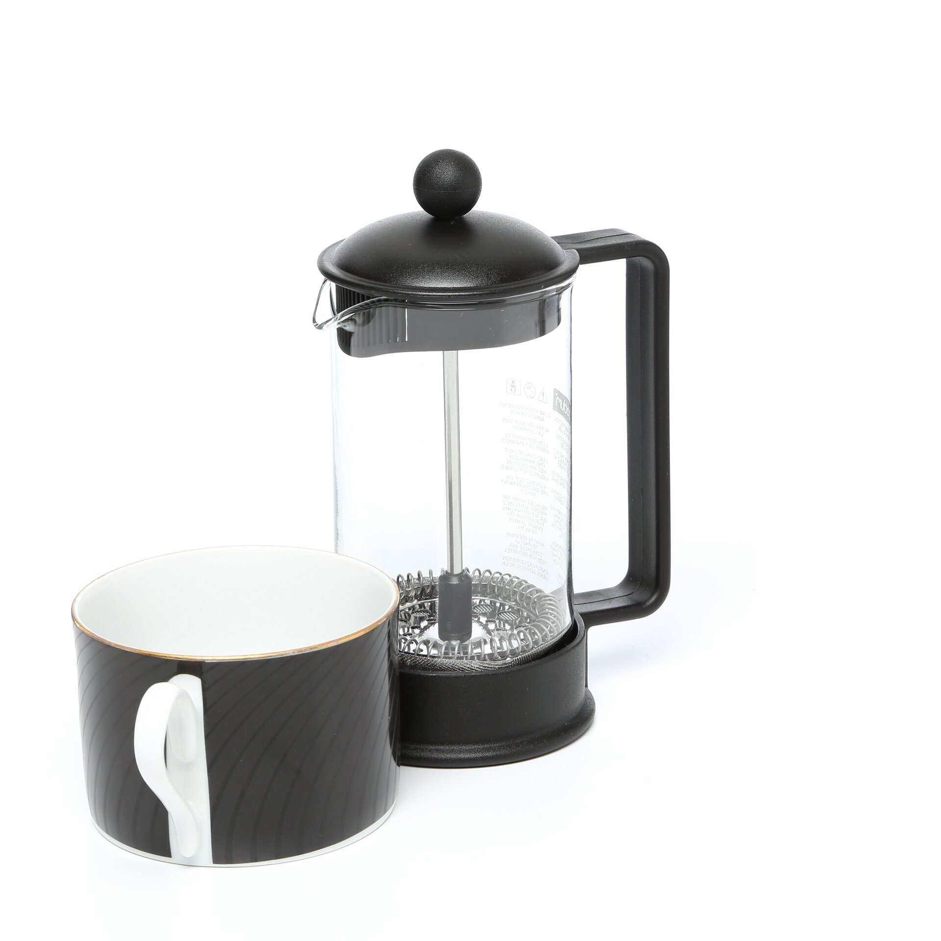Bed bath beyond french press - Bodum Brazil French Press Coffee Maker Reviews Wayfair