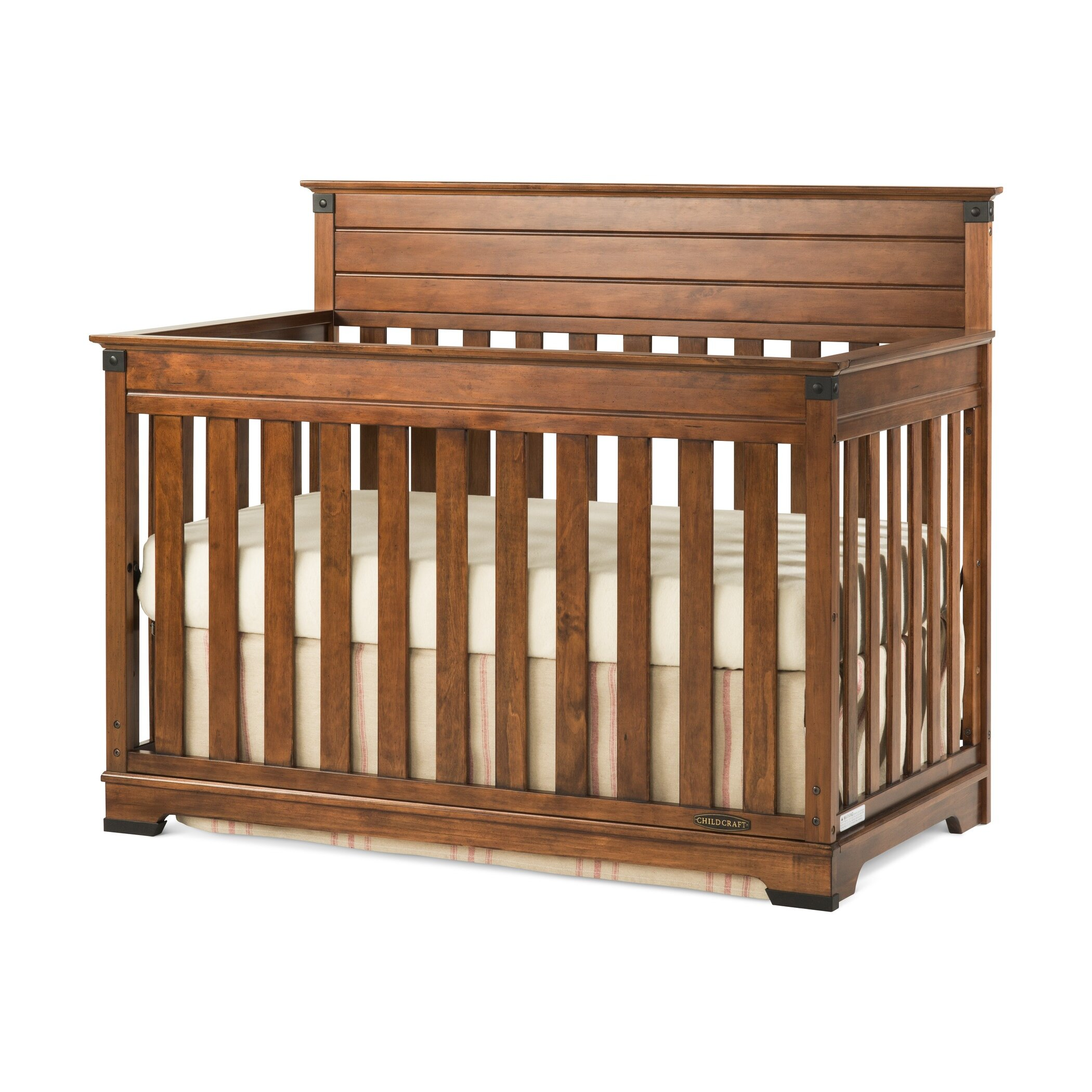 Wooden crib for babies - Child Craft Redmond Convertible Crib