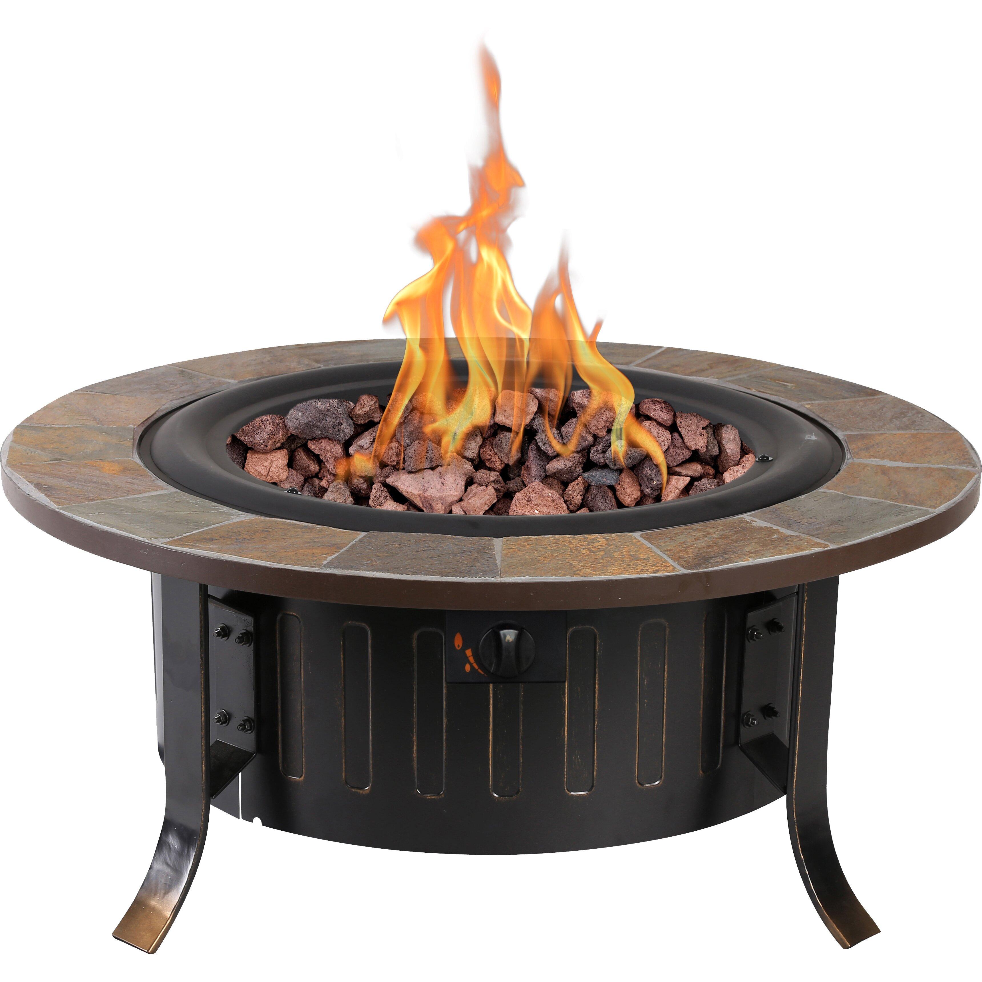 Bond Bolen Steel Outdoor Gas Table Top Fireplace Amp Reviews