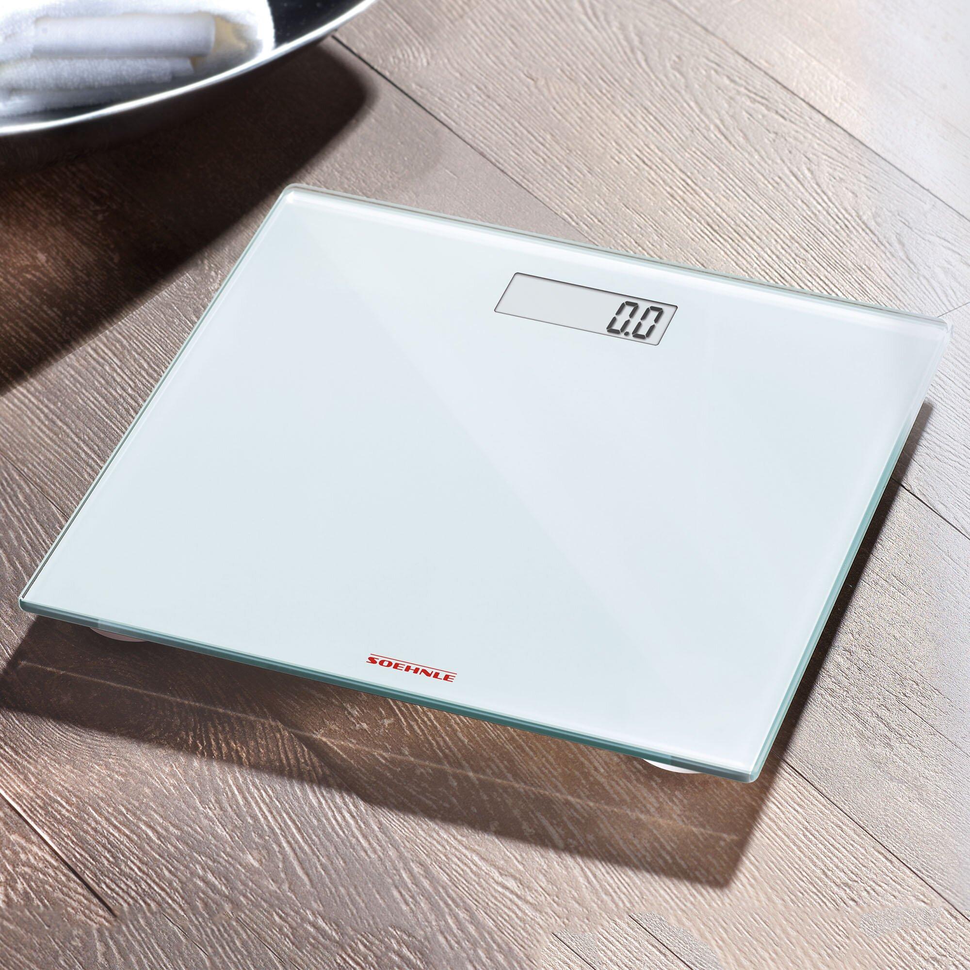soehnle pino precision digital bathroom scale & reviews | wayfair