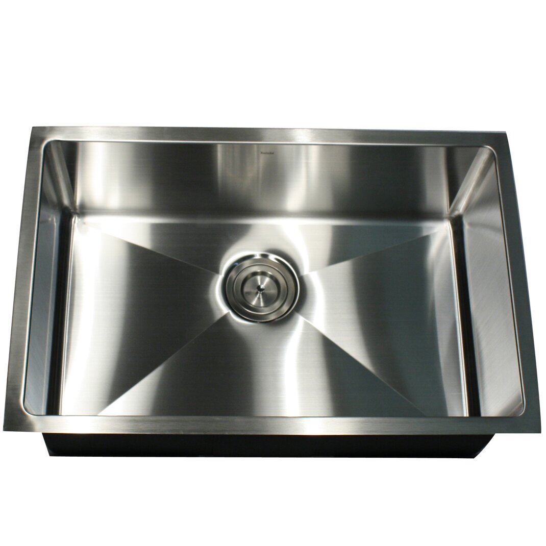 Small Kitchen Sinks Stainless Steel : ... Small Radius Stainless Steel Kitchen Sink by Nantucket Sinks