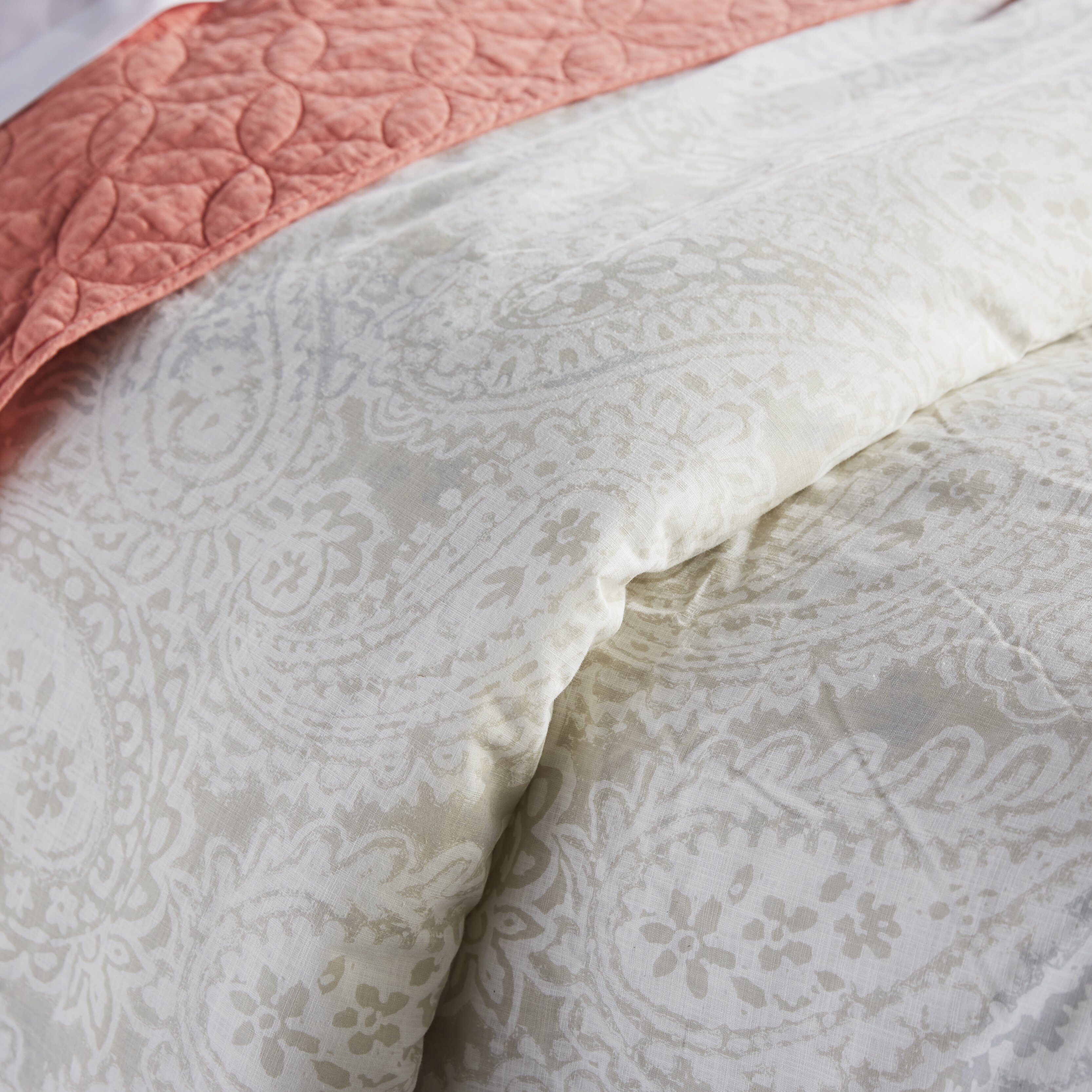 3 Piece Mission Paisley Comforter Set By Tommy Hilfiger
