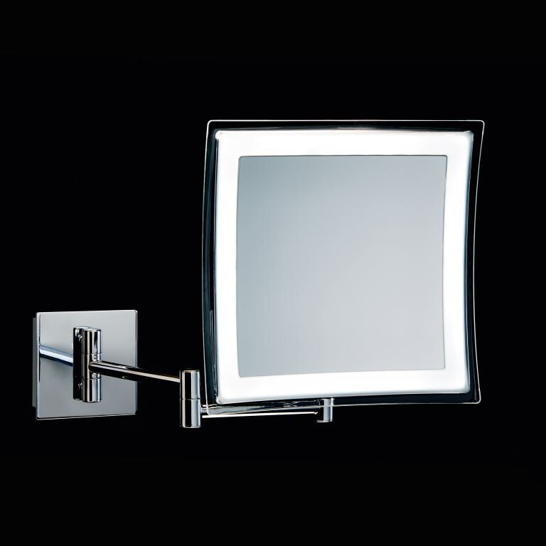 WS Bath Collections Spiegel Battery Operated Makeup Mirror. WS Bath Collections Spiegel Battery Operated Makeup Mirror