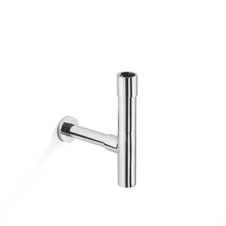 Ws bath collections linea decorative p trap reviews for Bathroom p trap size