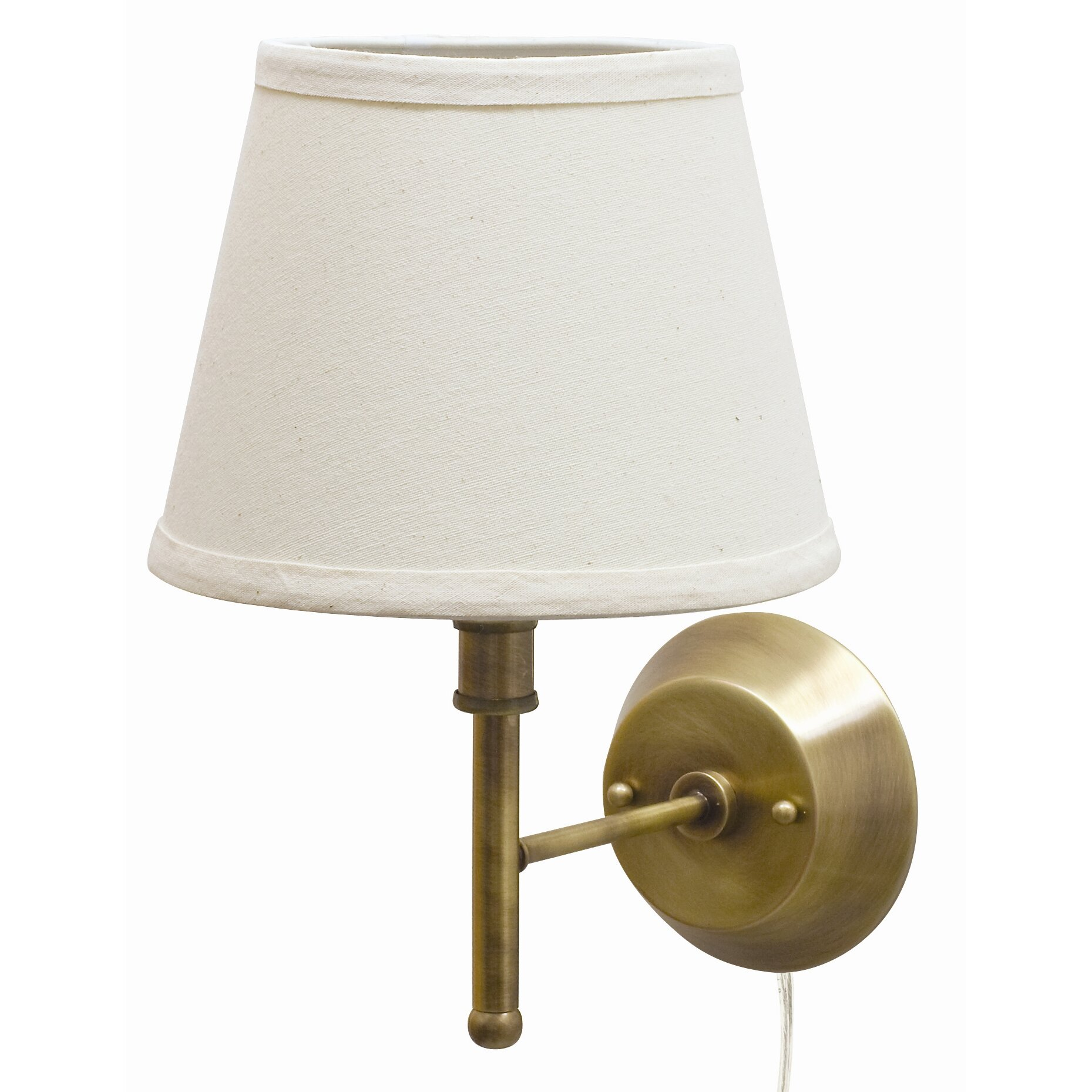 house of troy greensboro 13 pin up wall lamp reviews wayfair. Black Bedroom Furniture Sets. Home Design Ideas