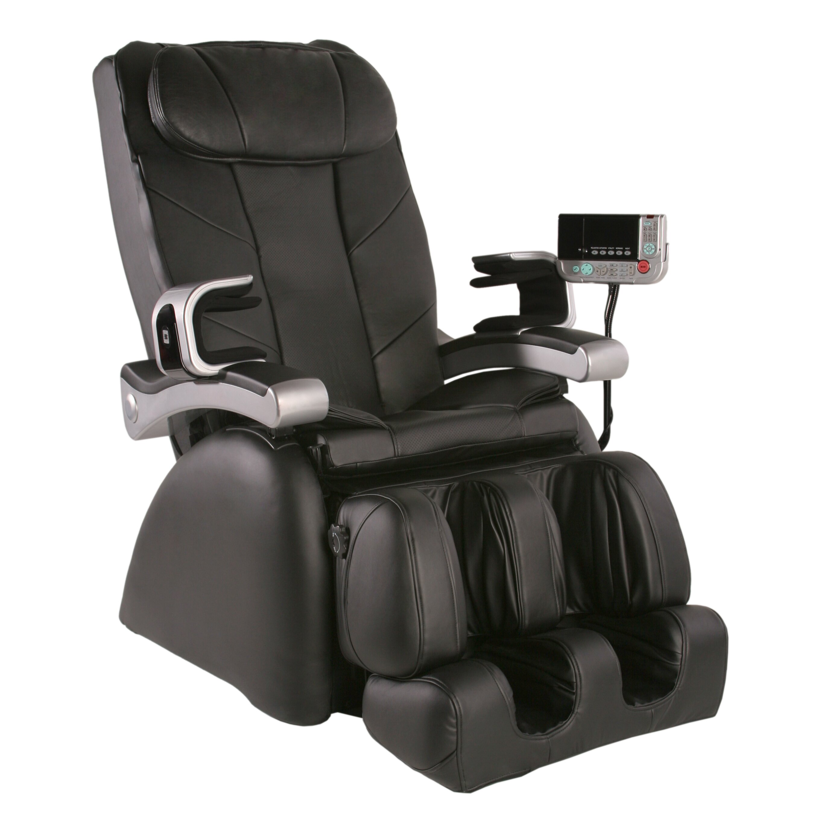 Lounge chairs for bad backs - Mp 1 Montage Premier Reclining Heated Massage Chair