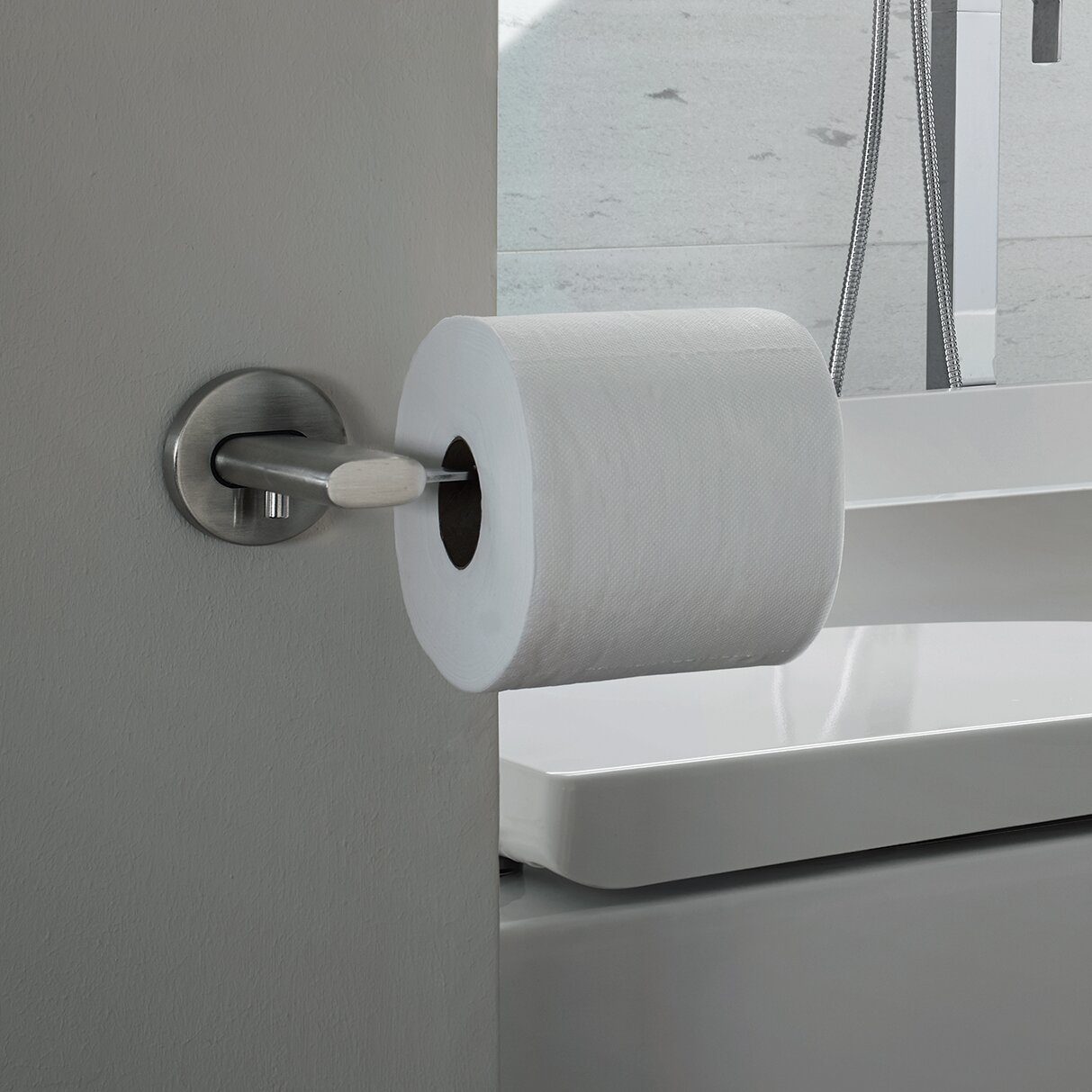 Bathroom Paper Towel Dispensers. unlacquered brass paper towel ... - Blomus Areo Toilet Paper Holder