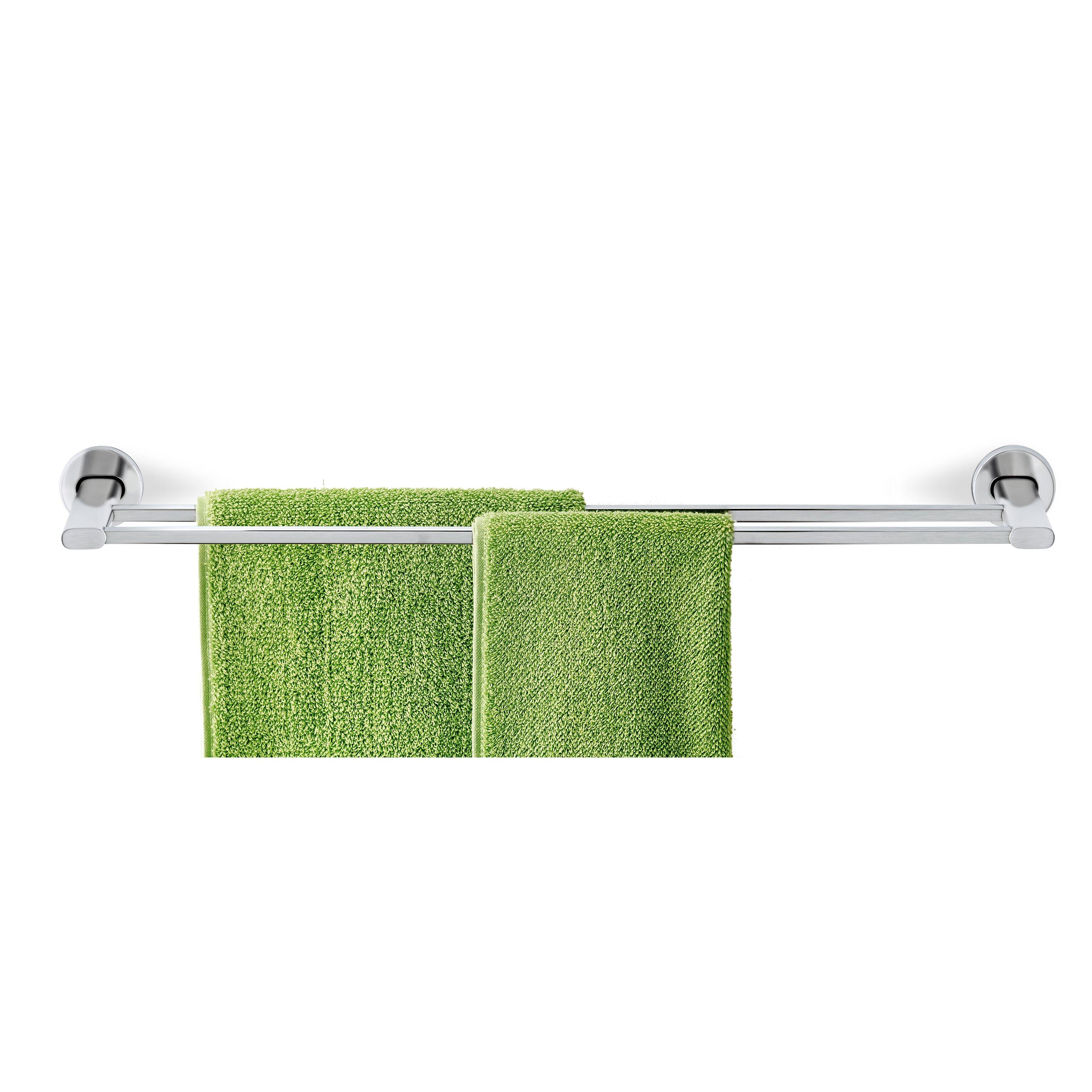 "Blomus Areo Twin 23.09"" Wall Mounted Towel Bar | Wayfair - Blomus Areo Twin 23.09"" Wall Mounted ..."