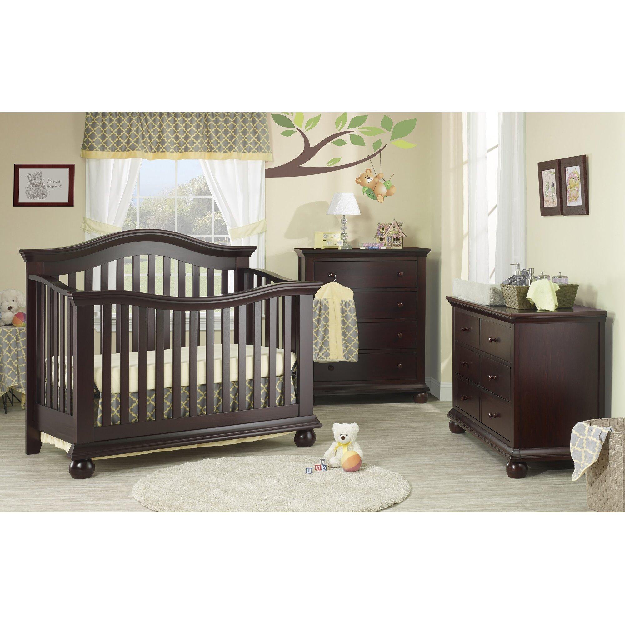 Baby cribs staten island - Sorelle Vista Couture 3 In 1 Convertible Crib