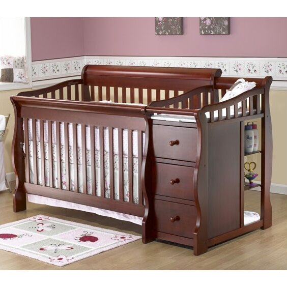 sorelle tuscany 4in1 convertible crib u0026 reviews wayfair - Sorelle Cribs