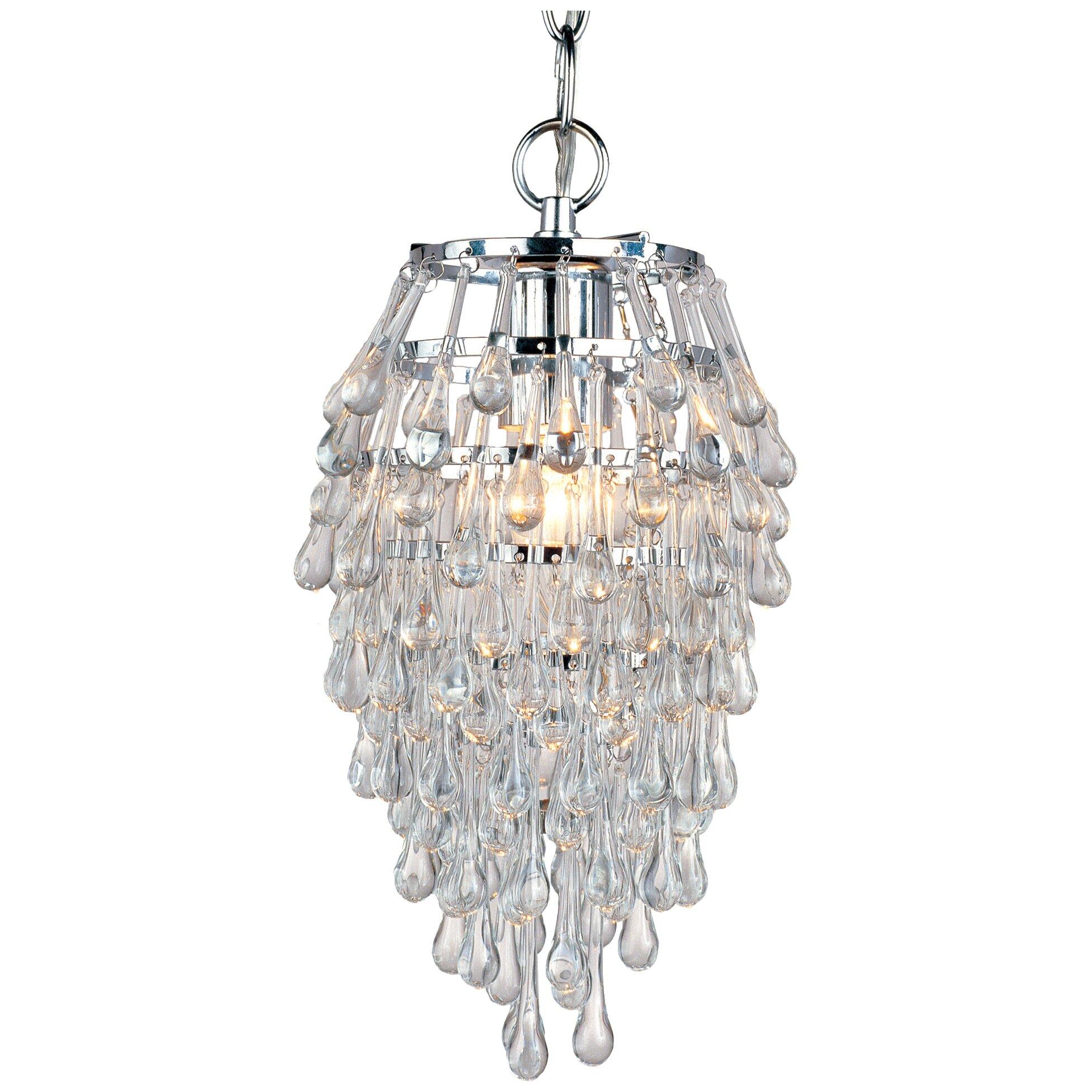af lighting elements teardrop light crystal pendant  reviews, Lighting ideas