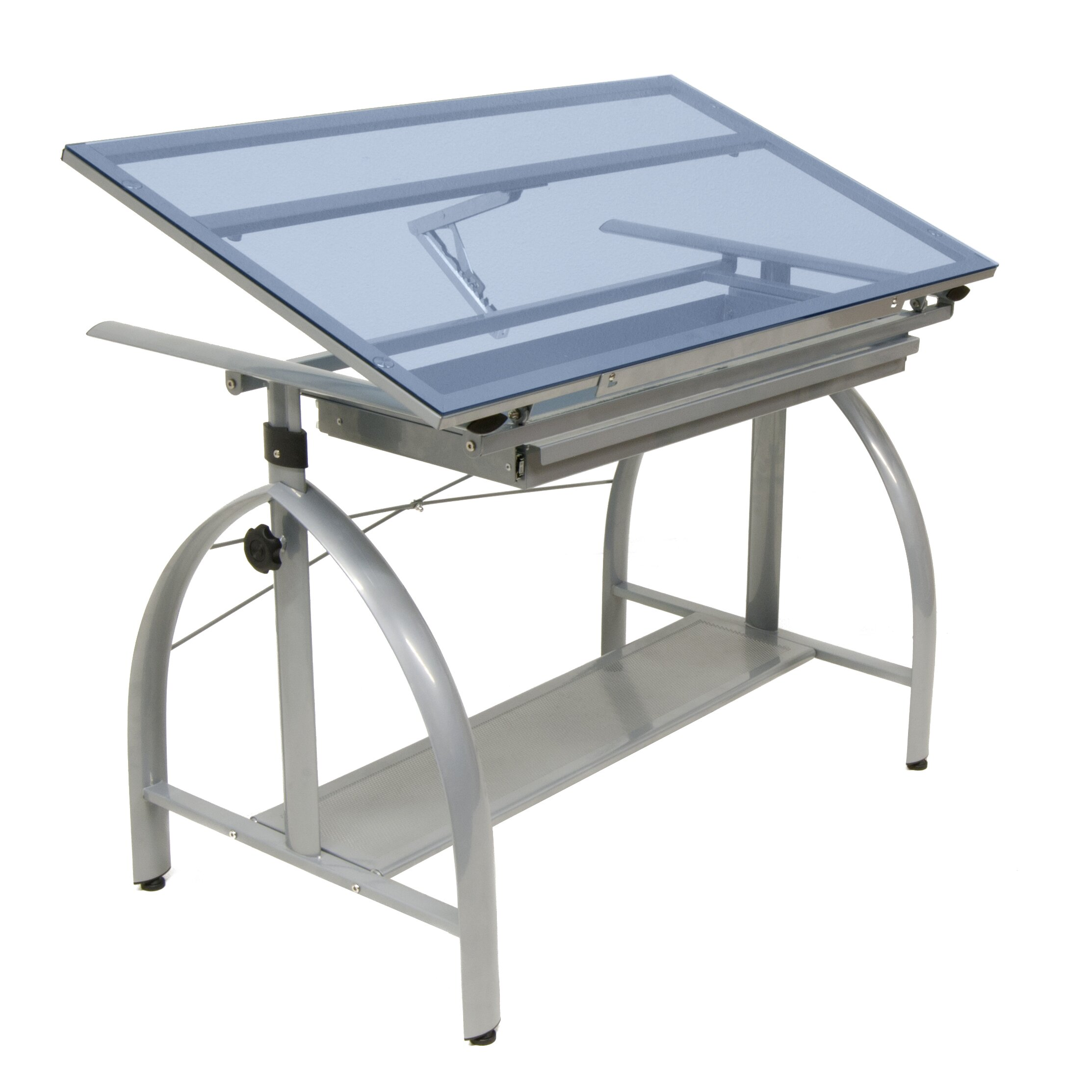 Sewing Glass Drafting amp Tables Studio Designs SKU SZT1092