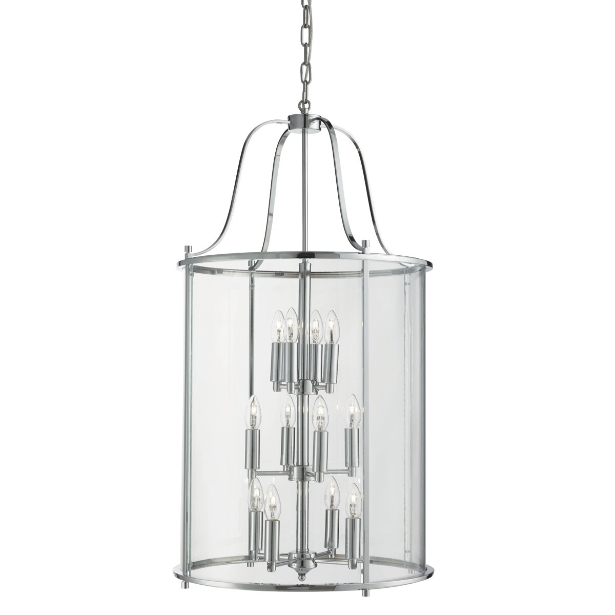 Victorian Foyer Lighting : Searchlight victorian lanterns light foyer pendant