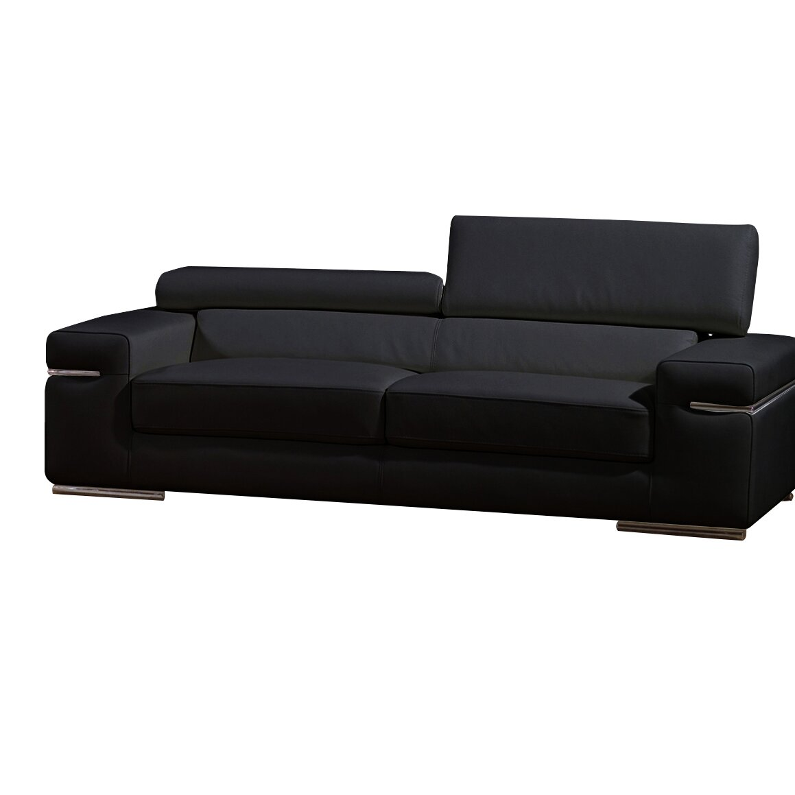 Emilia Leather Sofa Amp Reviews Allmodern