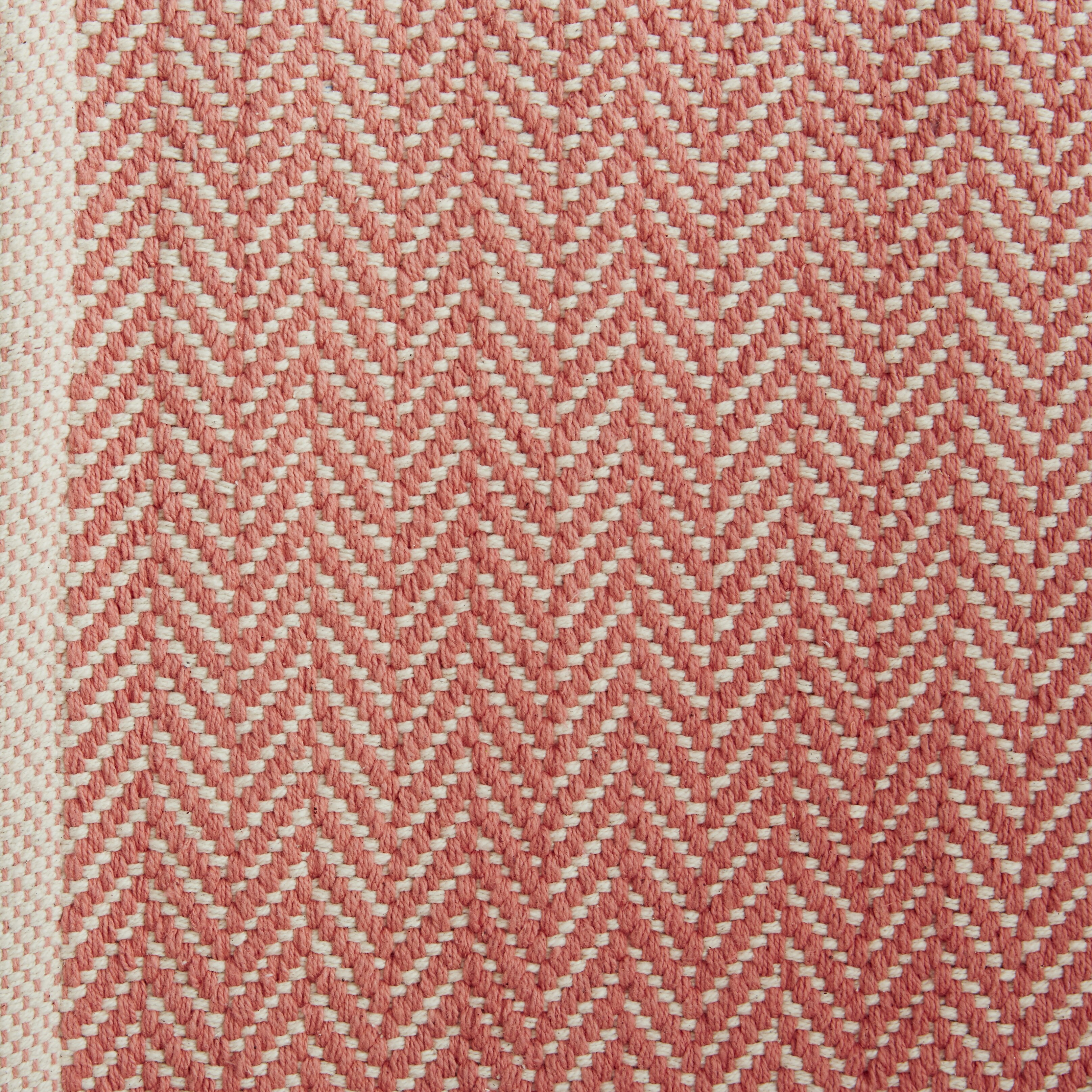 Dash and albert rugs herringbone hand woven pink area rug for Dash and albert wool rugs