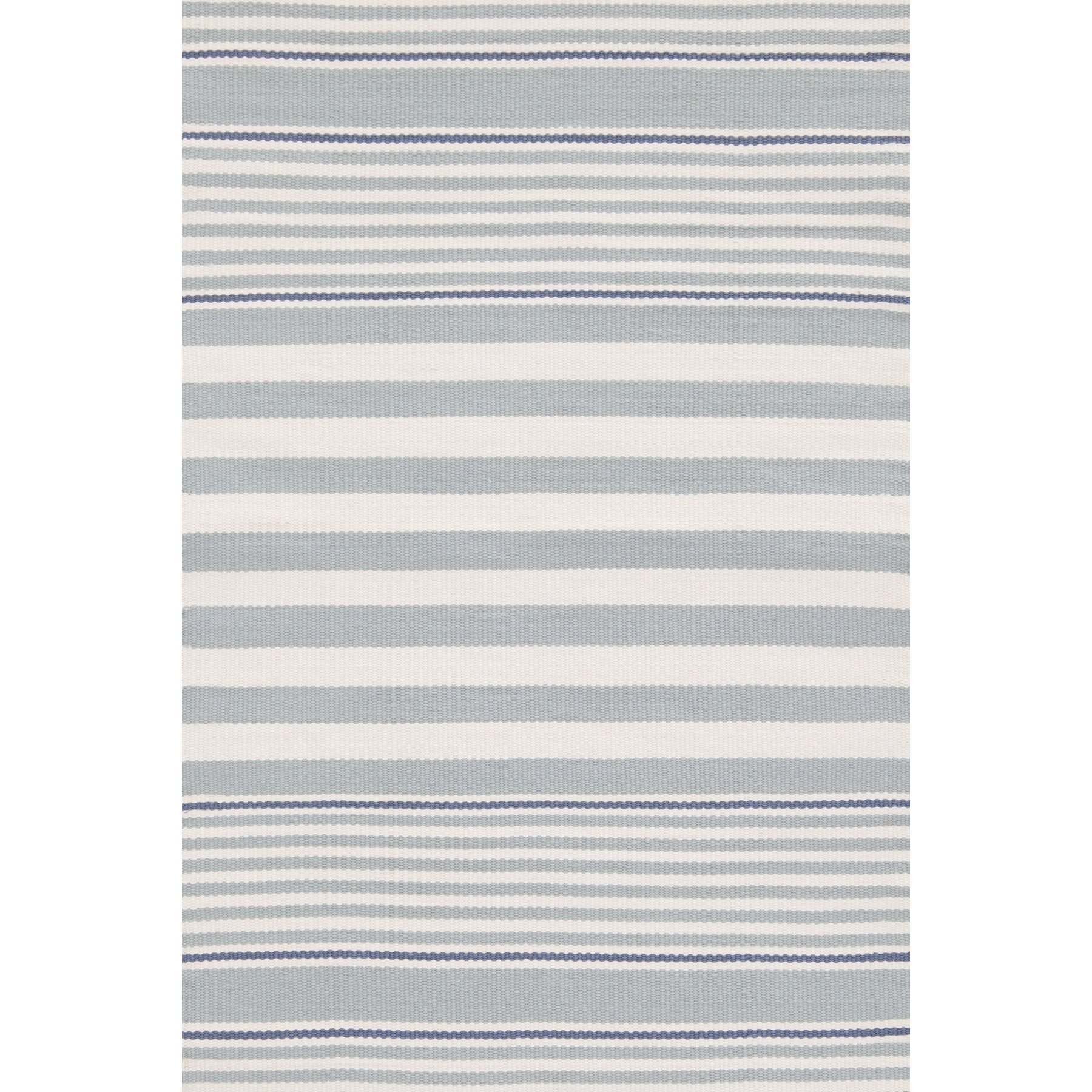 blue and white outdoor rug