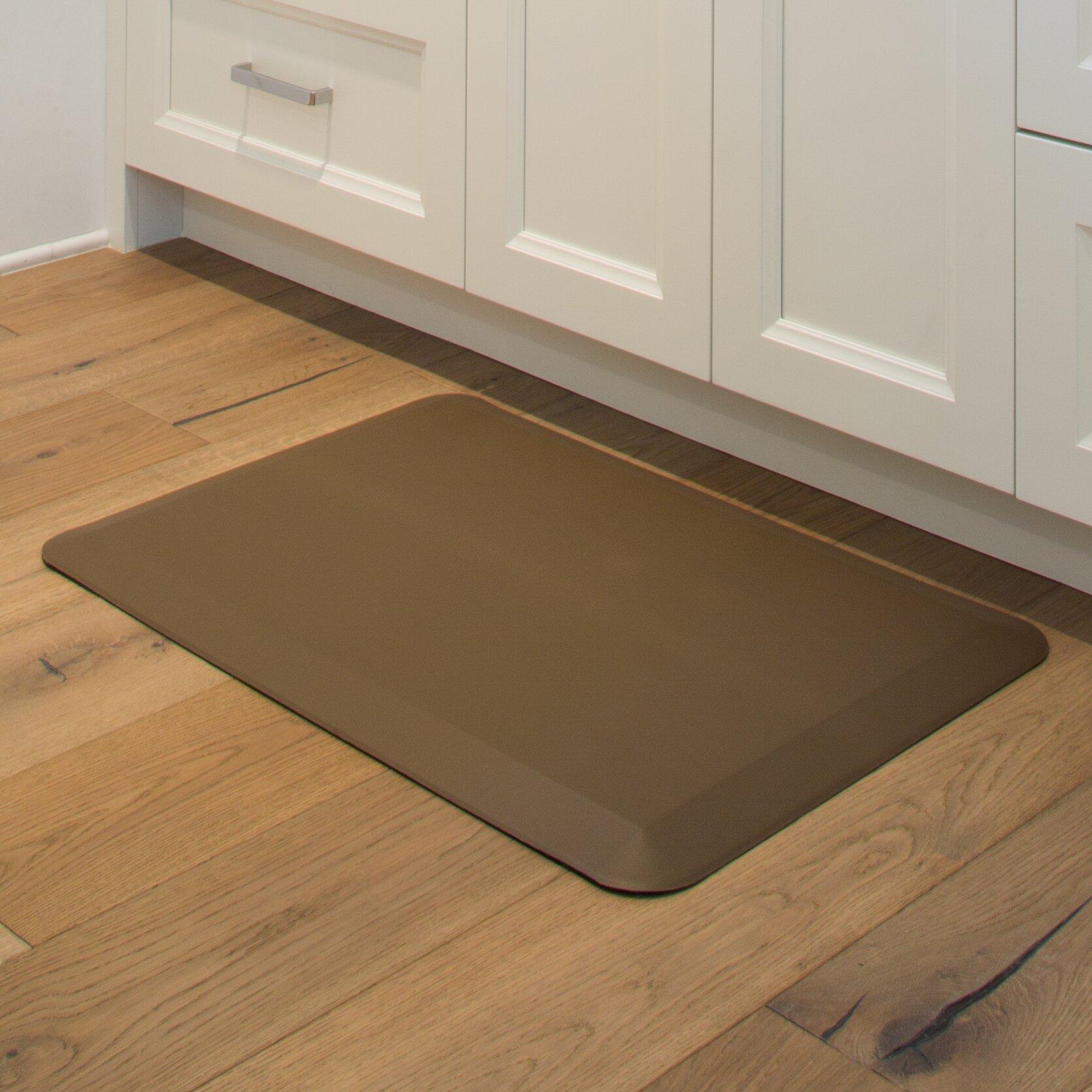 Solid Color Kitchen Rugs Imprint Comfort Mats Solid Kitchen Mat Reviews Wayfair