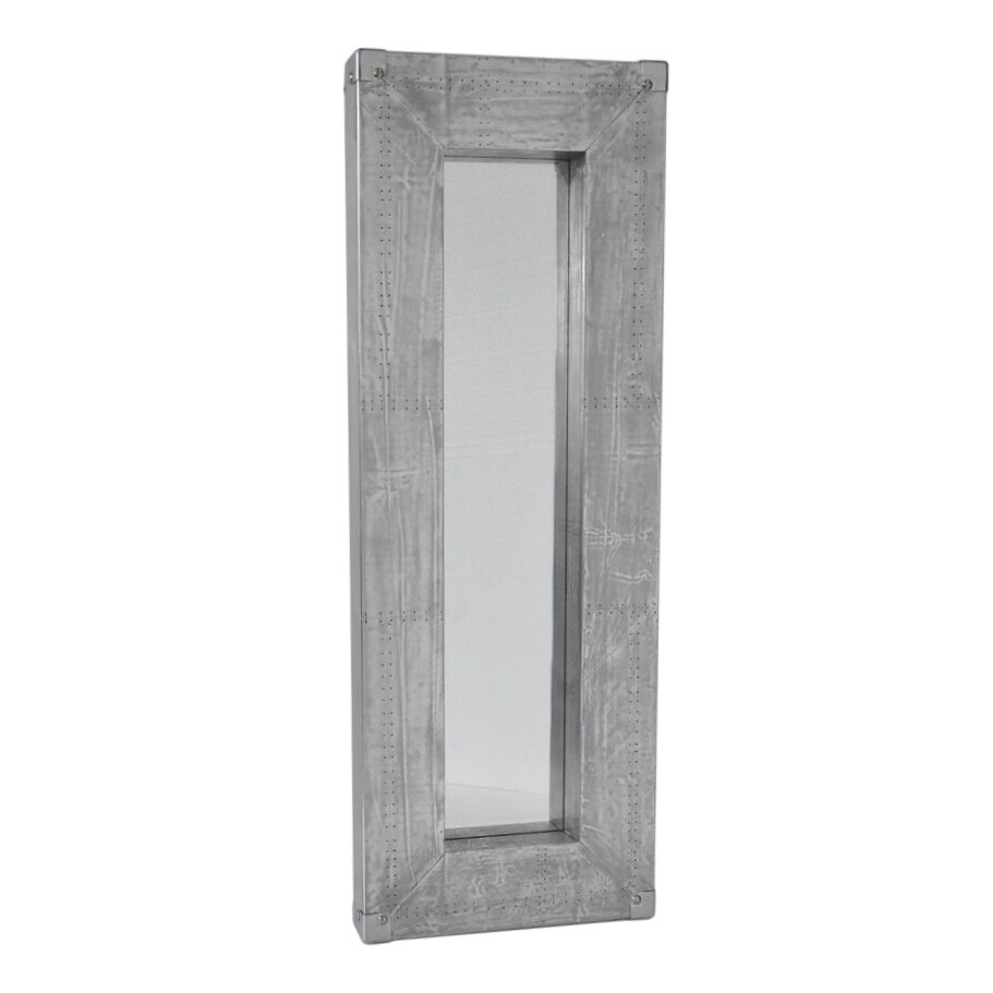 Cheungs osum long rectangle wall mirror reviews wayfair for Long glass mirror