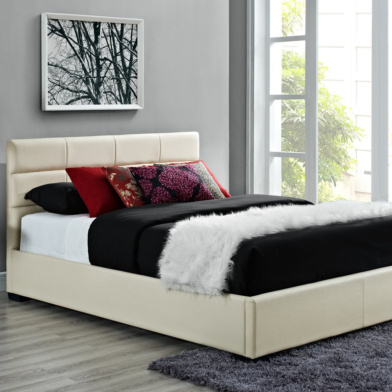 DHP Platform Bed DHP Platform Bed Reviews Wayfair  Dhp Black California  King Beds VesmaEducation com. King Dhp Sleigh Beds   s rk com