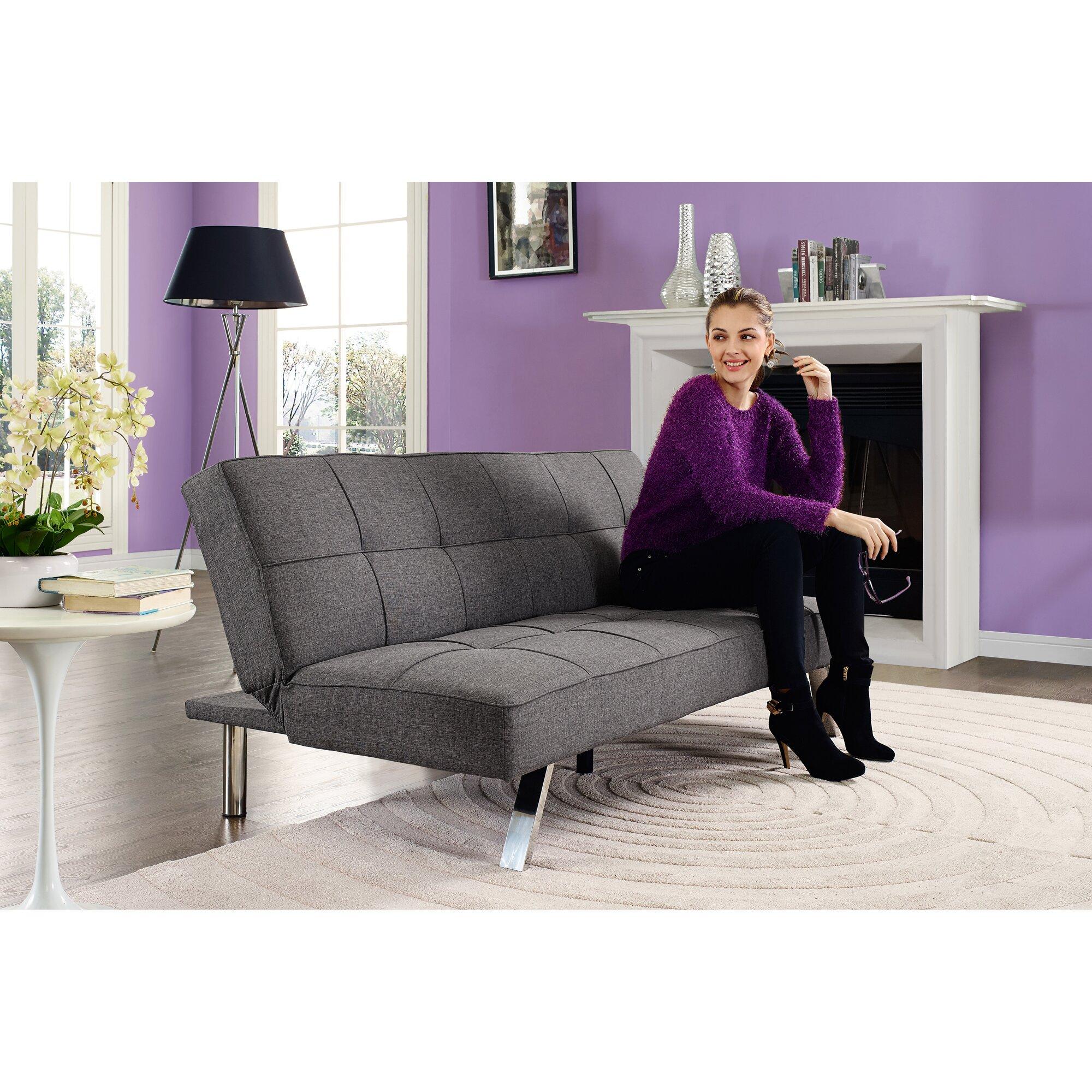 Dhp Zoe Convertible Sofa Amp Reviews Wayfair Ca