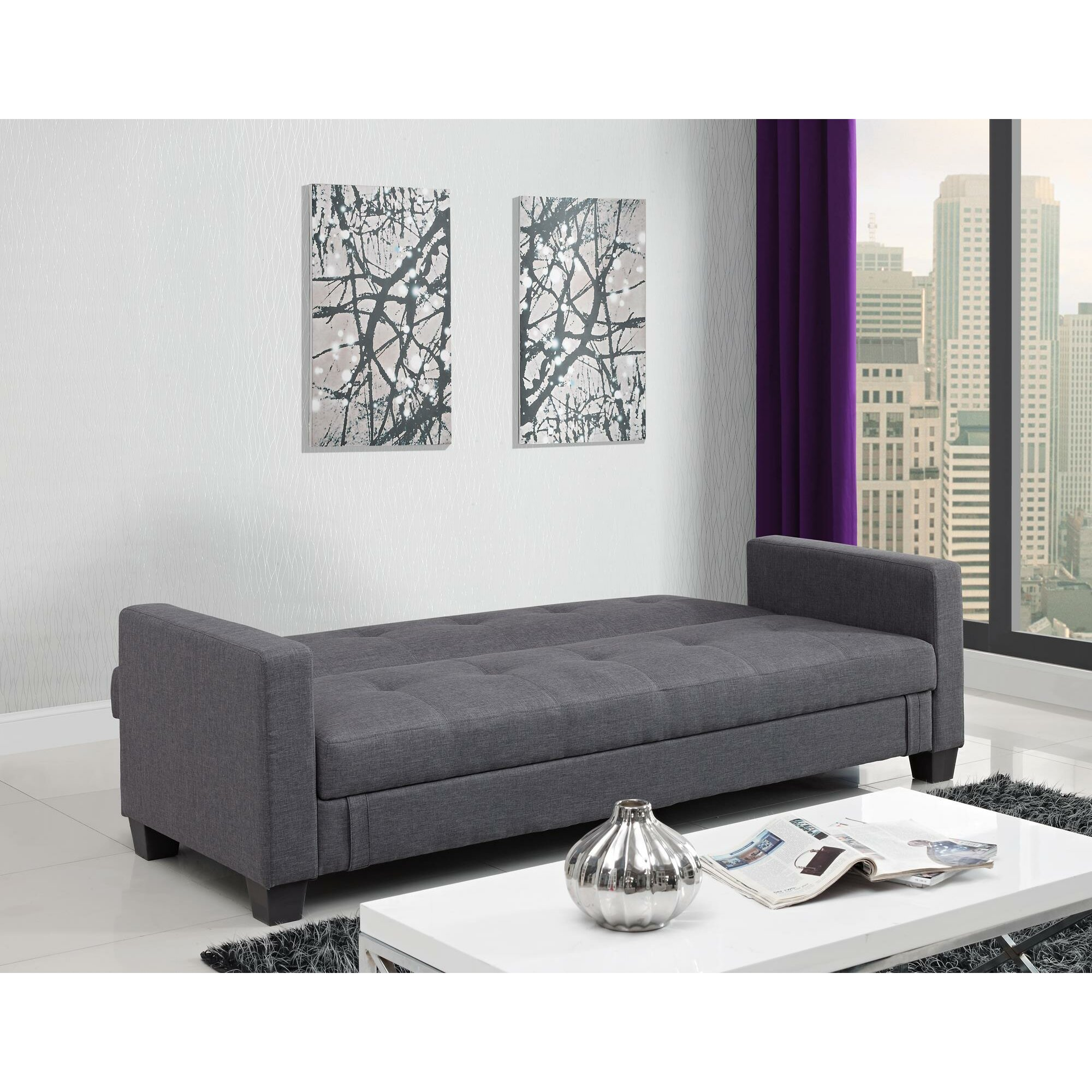 storage futon