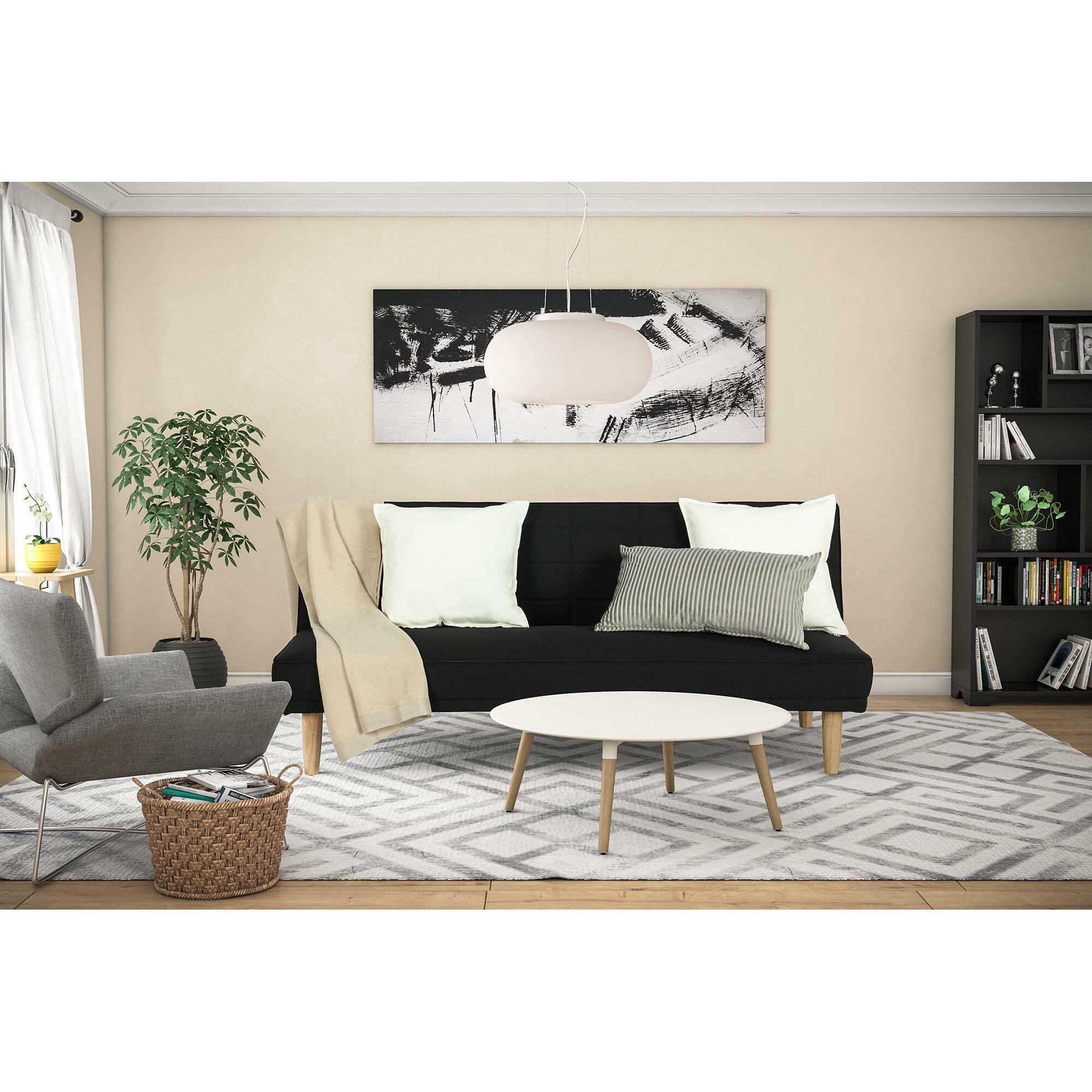 Ebern Designs Mikayla Convertible Sofa Wayfair Ca