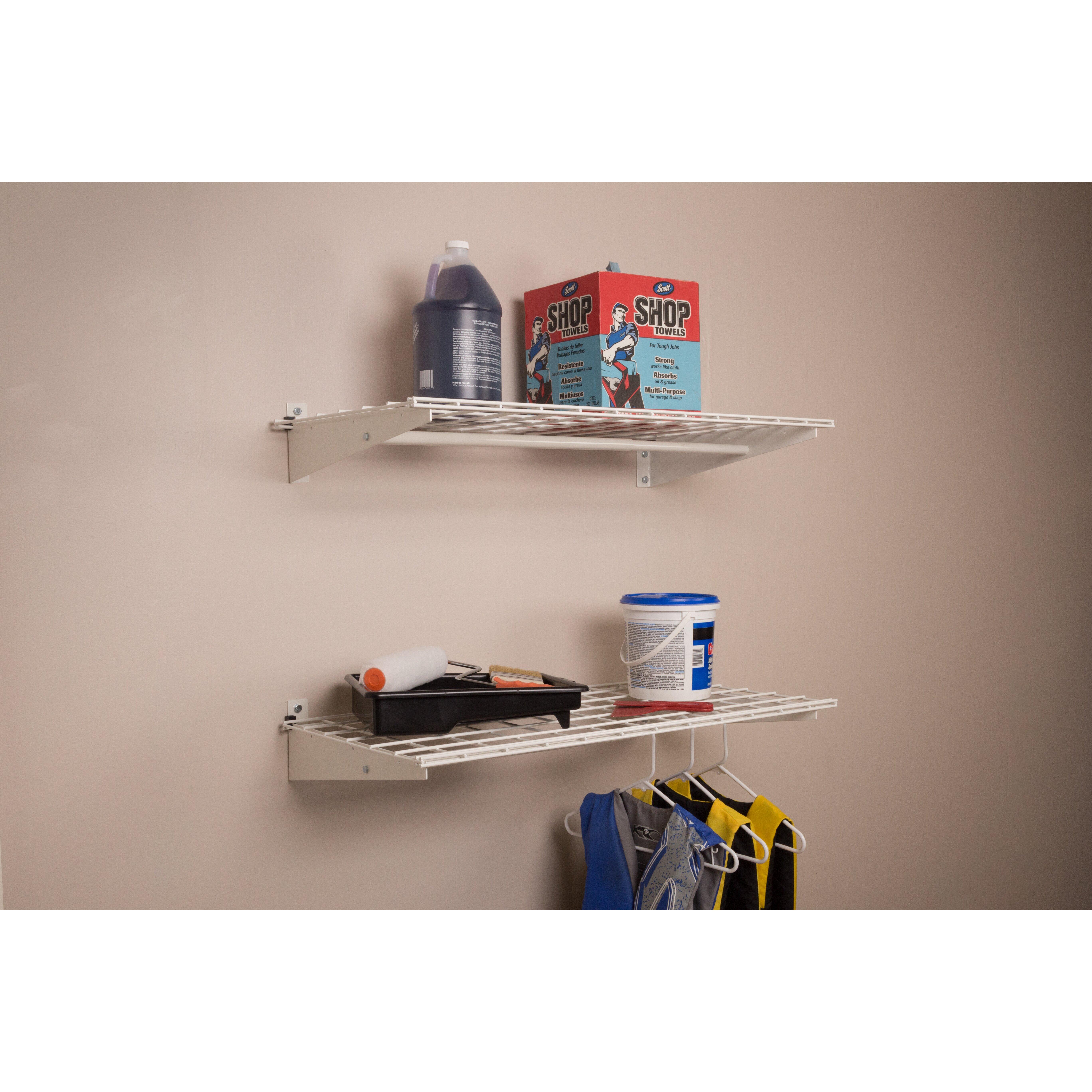 98 Wall Shelf With Hanging Rod Furniture Splendid