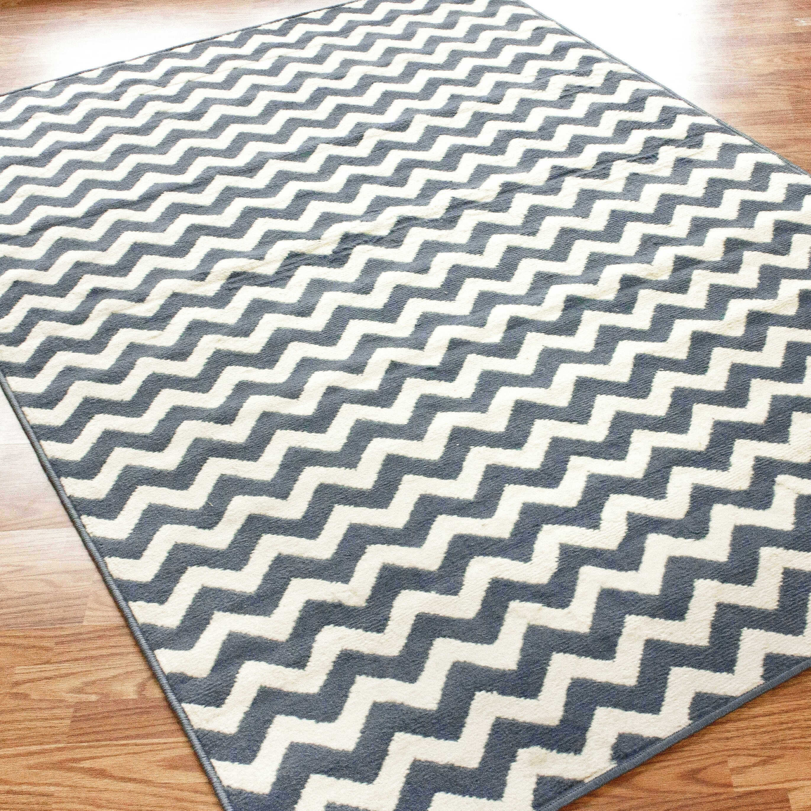 blue chevron rug  roselawnlutheran - nuloom poise chevron light blue area rug