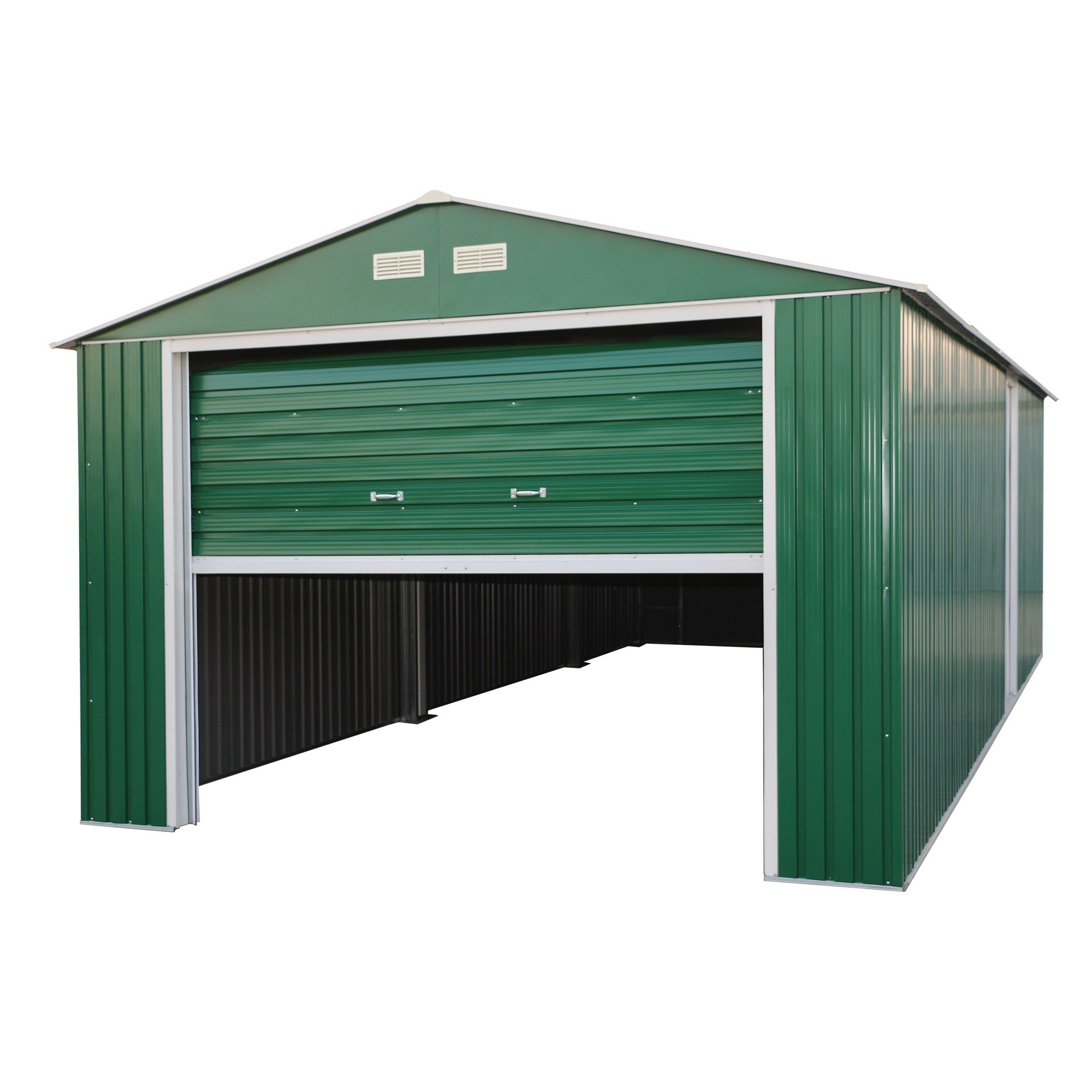 Duramax Imperial 12 Ft. W X 20 Ft. D Metal Garage Shed
