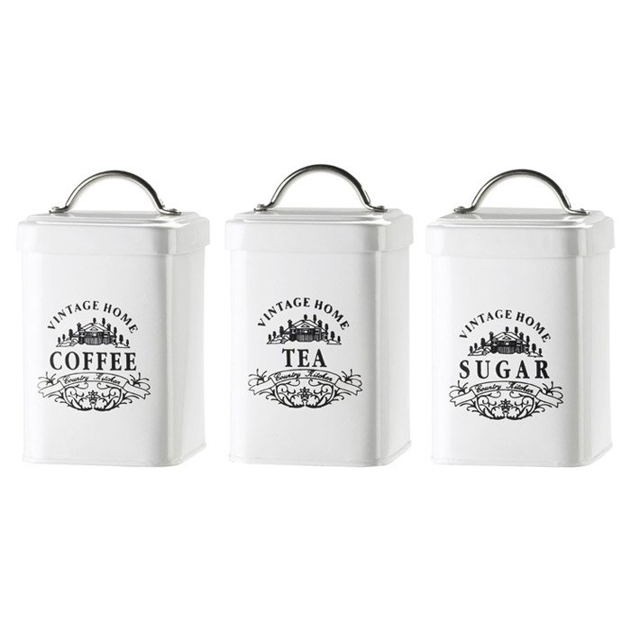 Global amici vintage home canister reviews wayfair for Hearth and home designs canister set