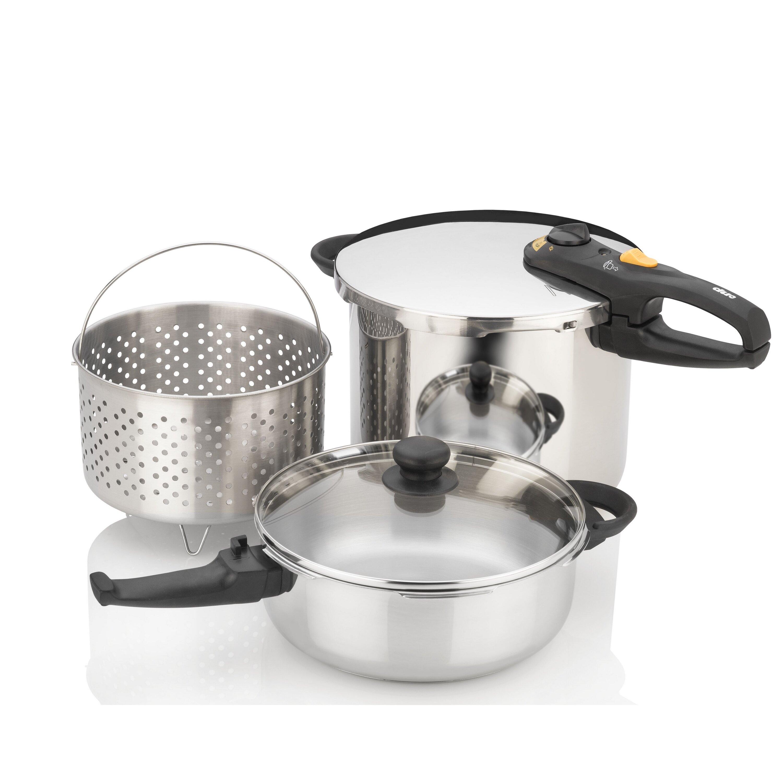 Fagor duo 8 quart pressure cooker - Fagor Duo Combi Pressure Cooker