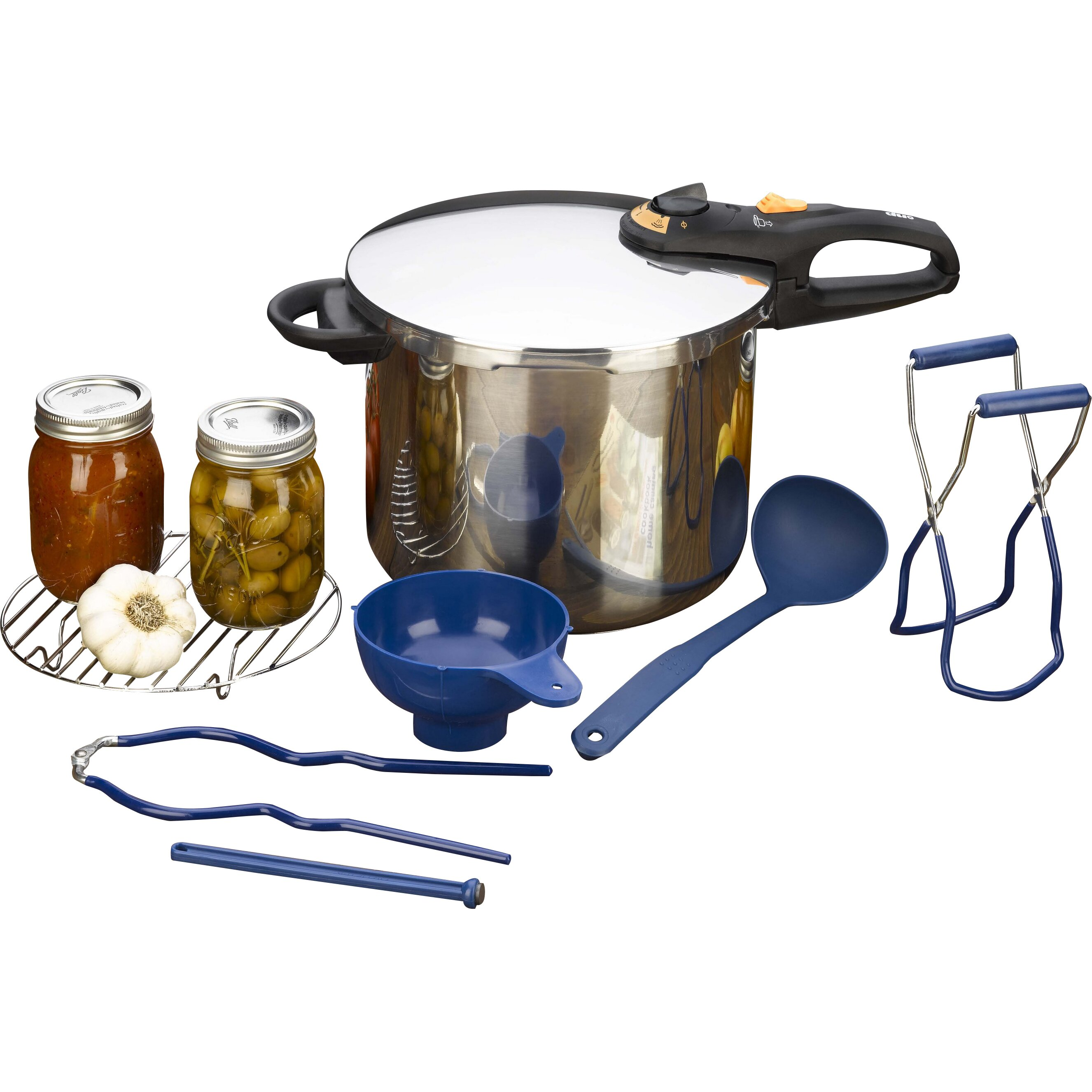 Fagor duo 8 quart pressure cooker - Fagor Duo 10 6 Quart Pressure Canning Set