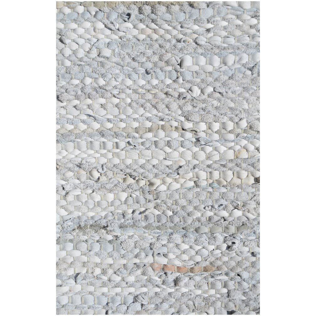 Acura Rugs Silver Flatweave Area Rug & Reviews