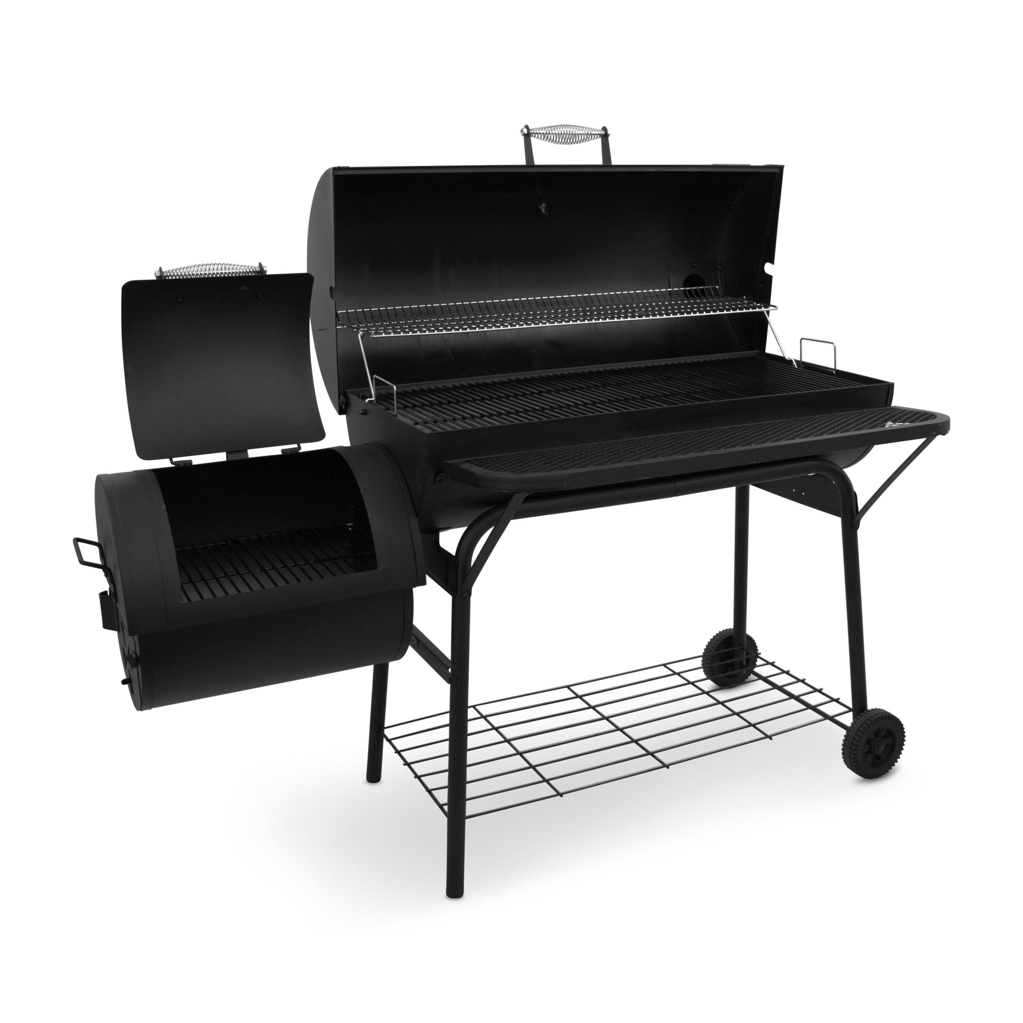 charbroil american gourmet deluxe offset charcoal smoker grill reviews. Black Bedroom Furniture Sets. Home Design Ideas