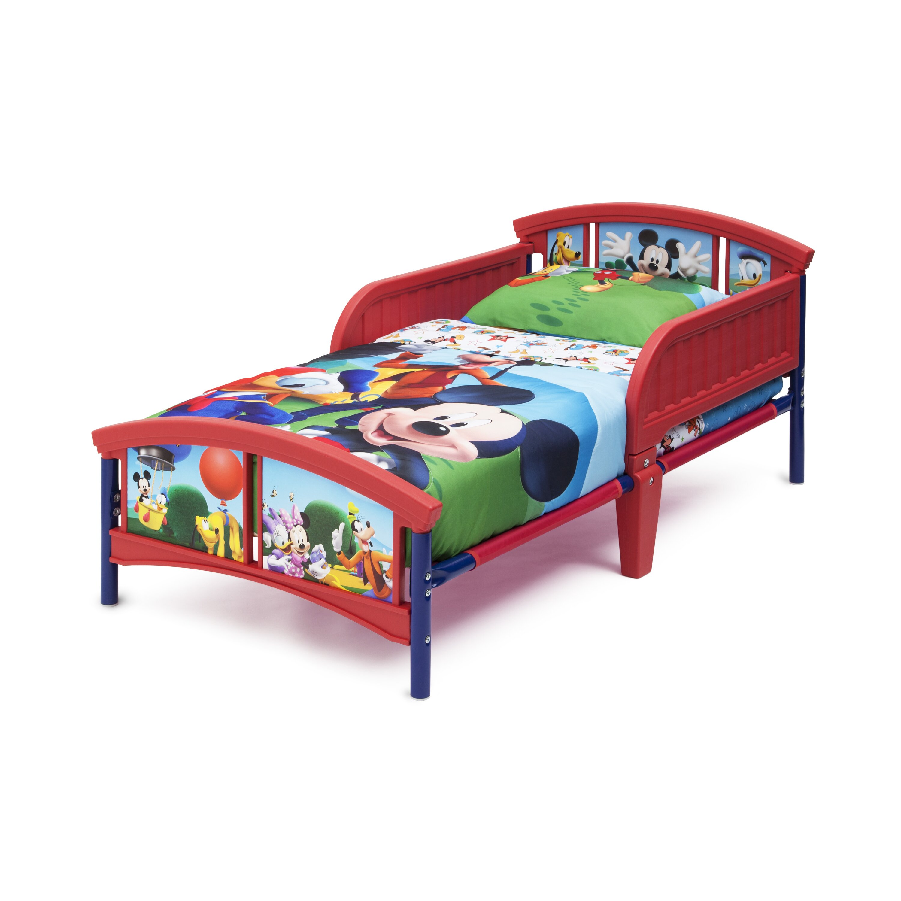 Mickey Mouse Bedroom Curtains Tv Character Themed Kids Beds Youll Love Wayfair