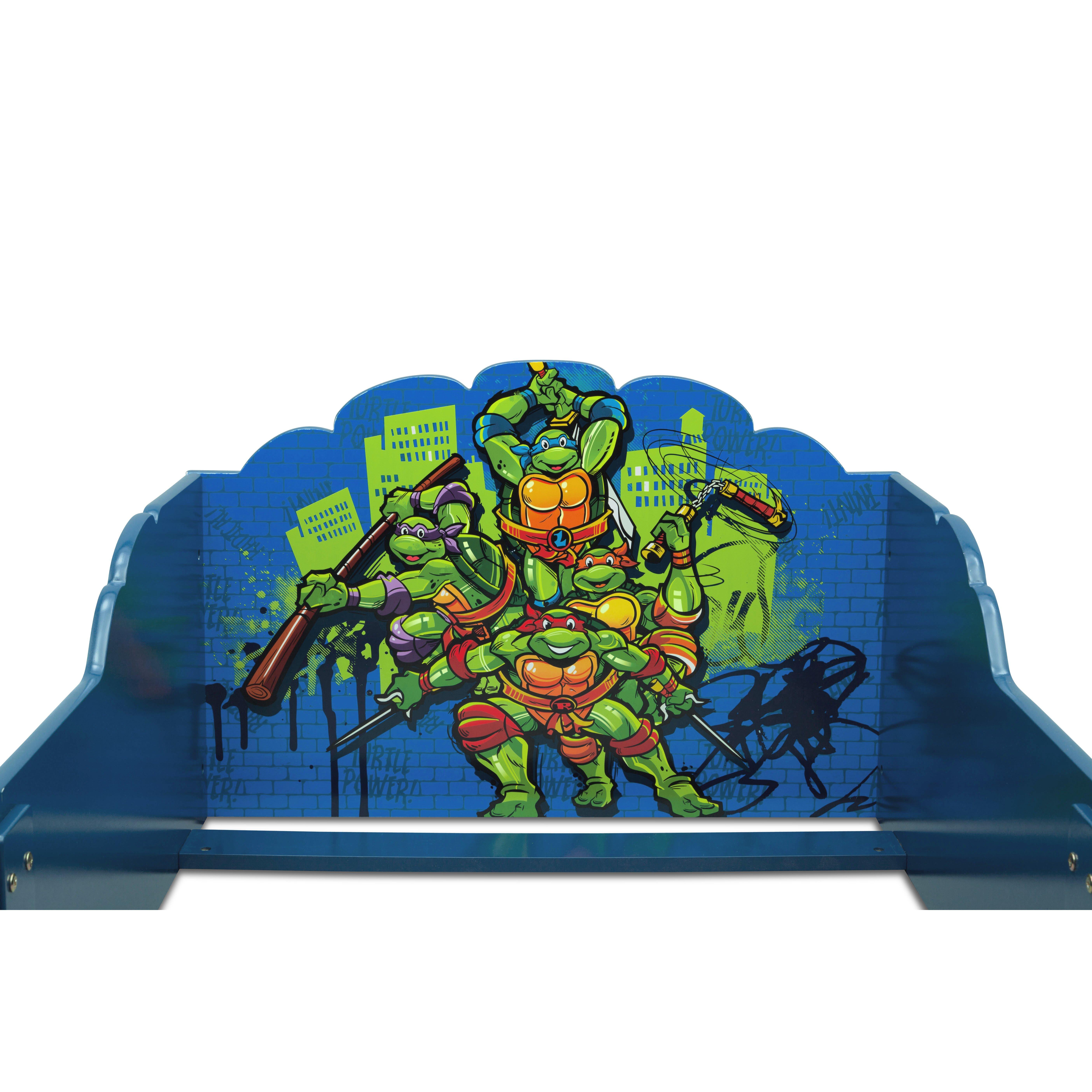Ninja Turtle Bedroom Furniture Delta Children Teenage Mutant Ninja Turtles Toddler Bed Reviews
