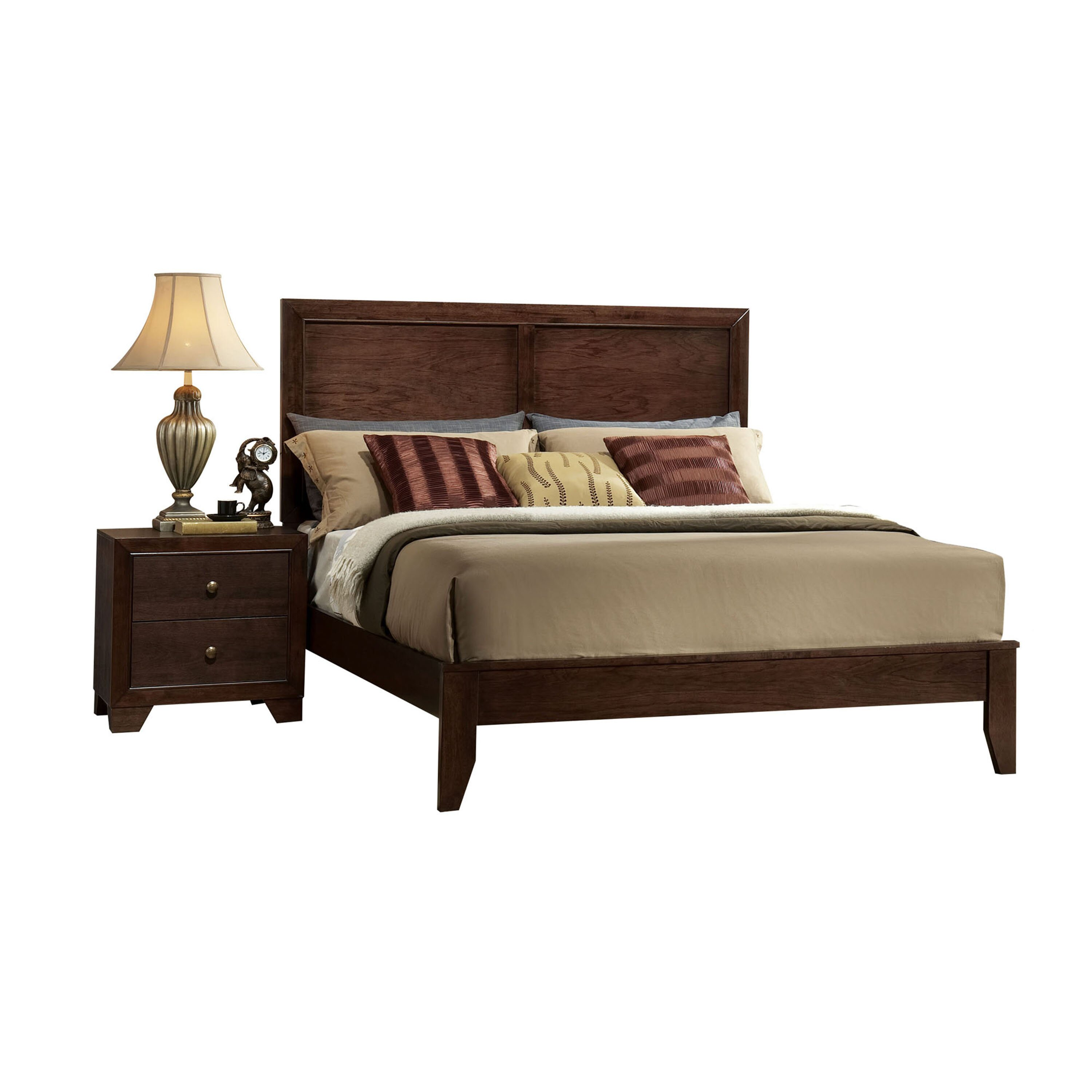 Madison Bedroom Furniture Acme Furniture Madison Panel Bed Reviews Wayfair