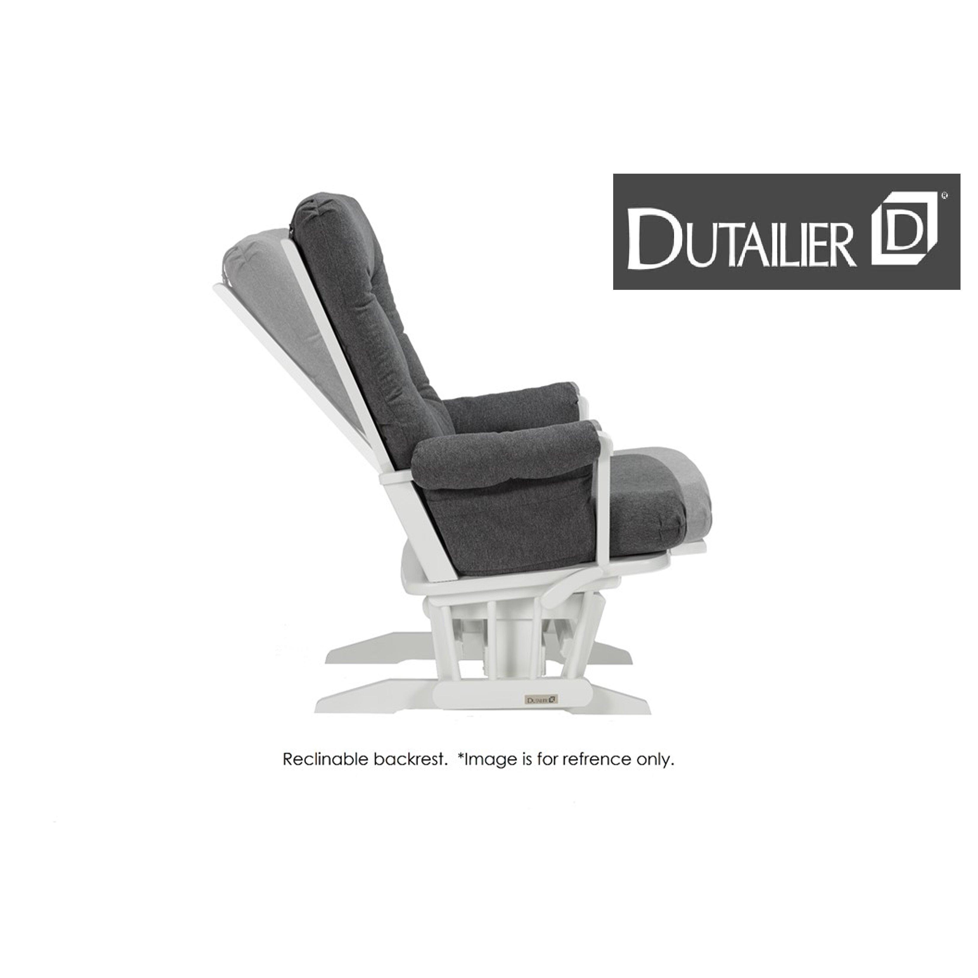 Dutailier Sleigh Glider Multiposition Recline Nursing Ottoman Combo  Dutailier Multi Position Reclining Sleigh Nursing Glider . Dutailier Sleigh  Glider ...