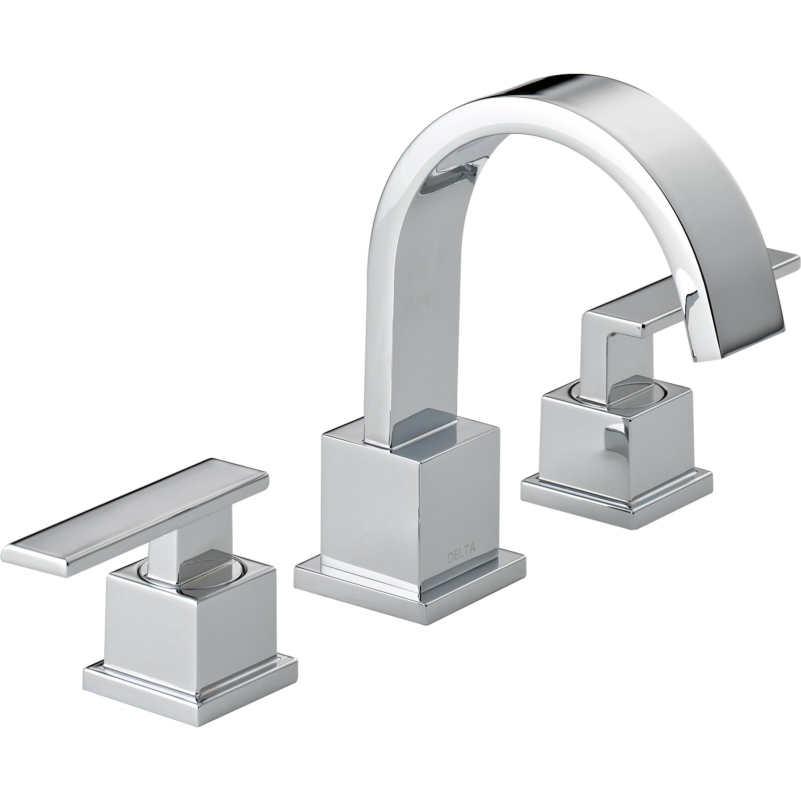 Bathroom Faucet Delta Vero Two Handle Widespread Bathroom Faucet Reviews Wayfair